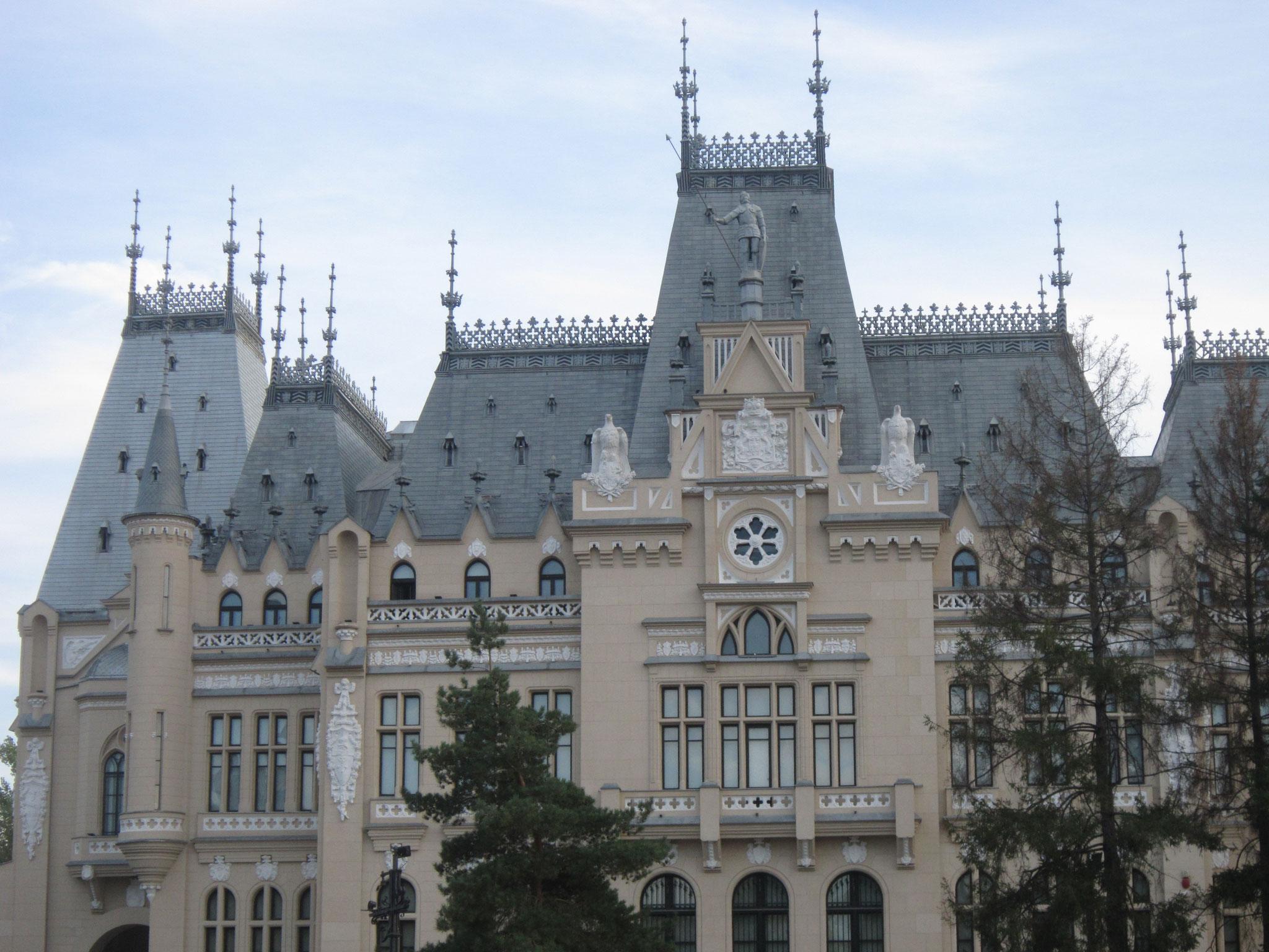 Дворец культуры, Яссы Румыния