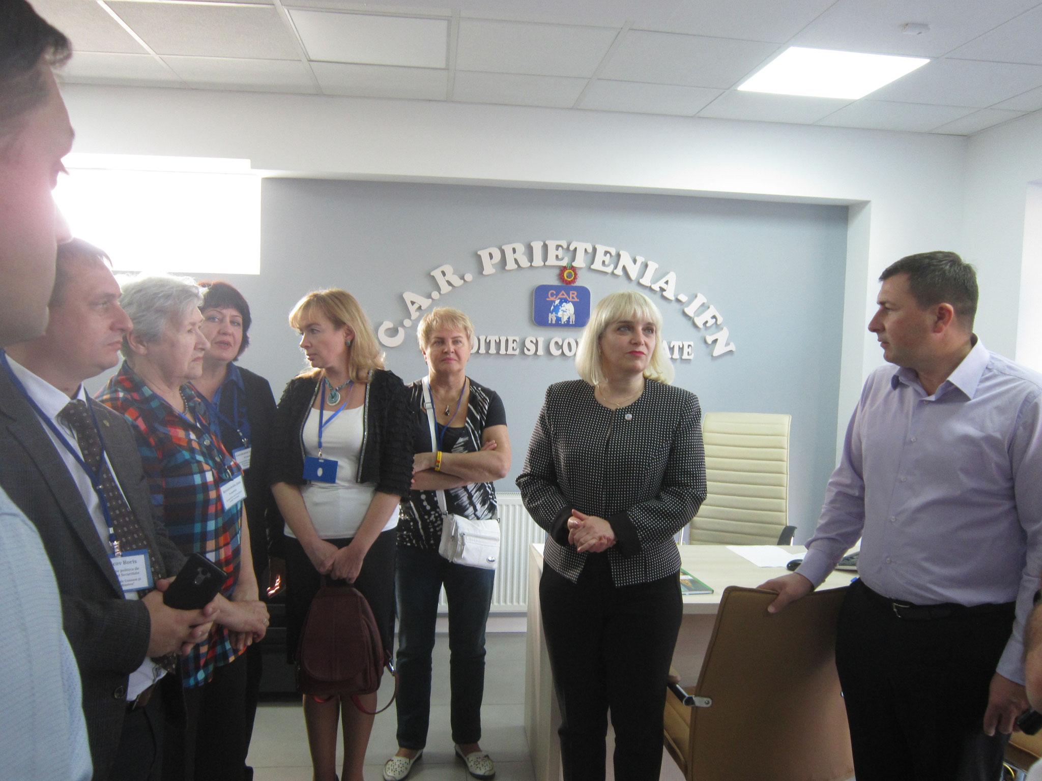 Посещение Филиала Яссы Кассы Взаимопомощи «Дружба»