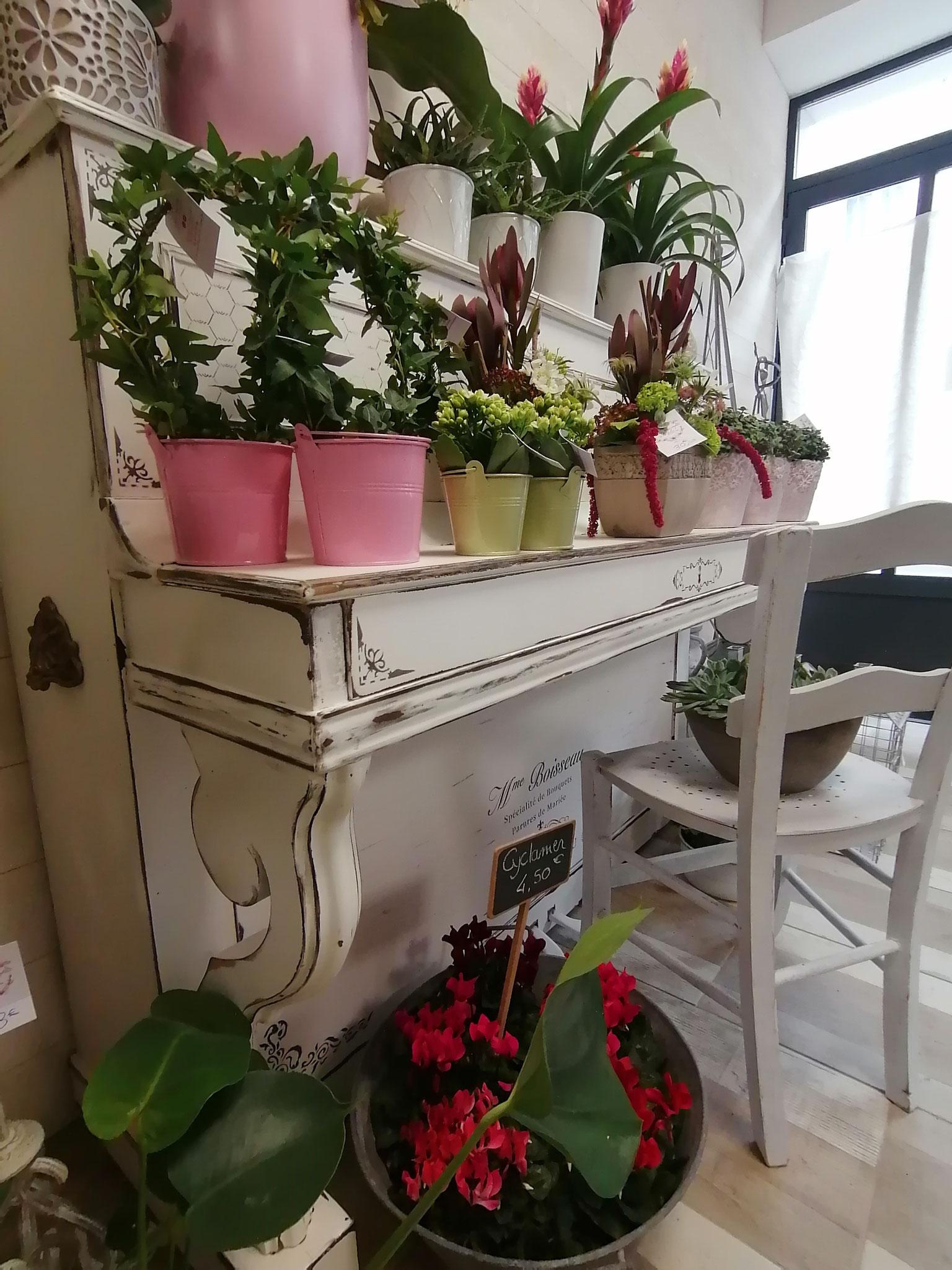 Piano et chaise