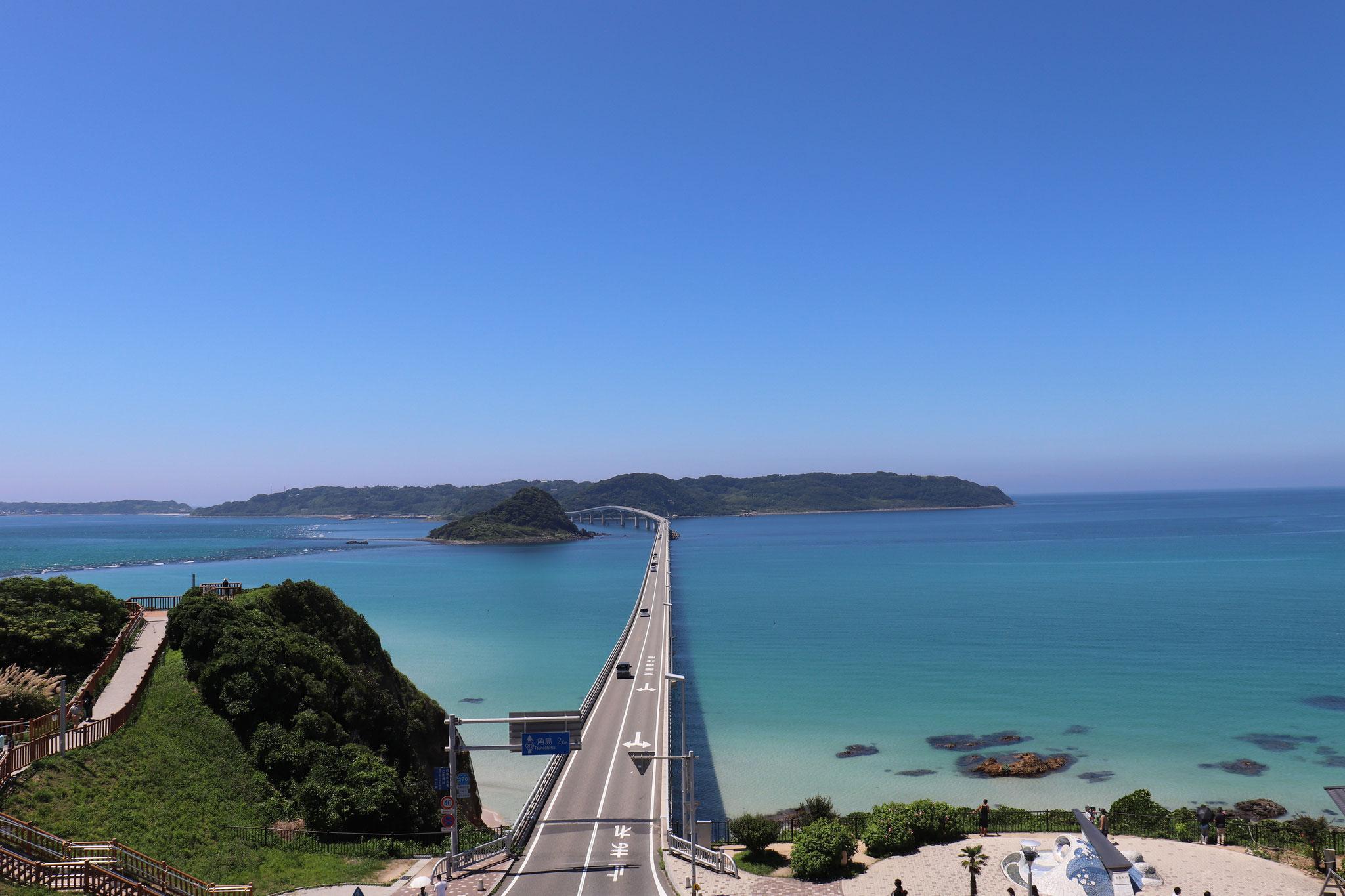 角島大橋(下関市豊北町)