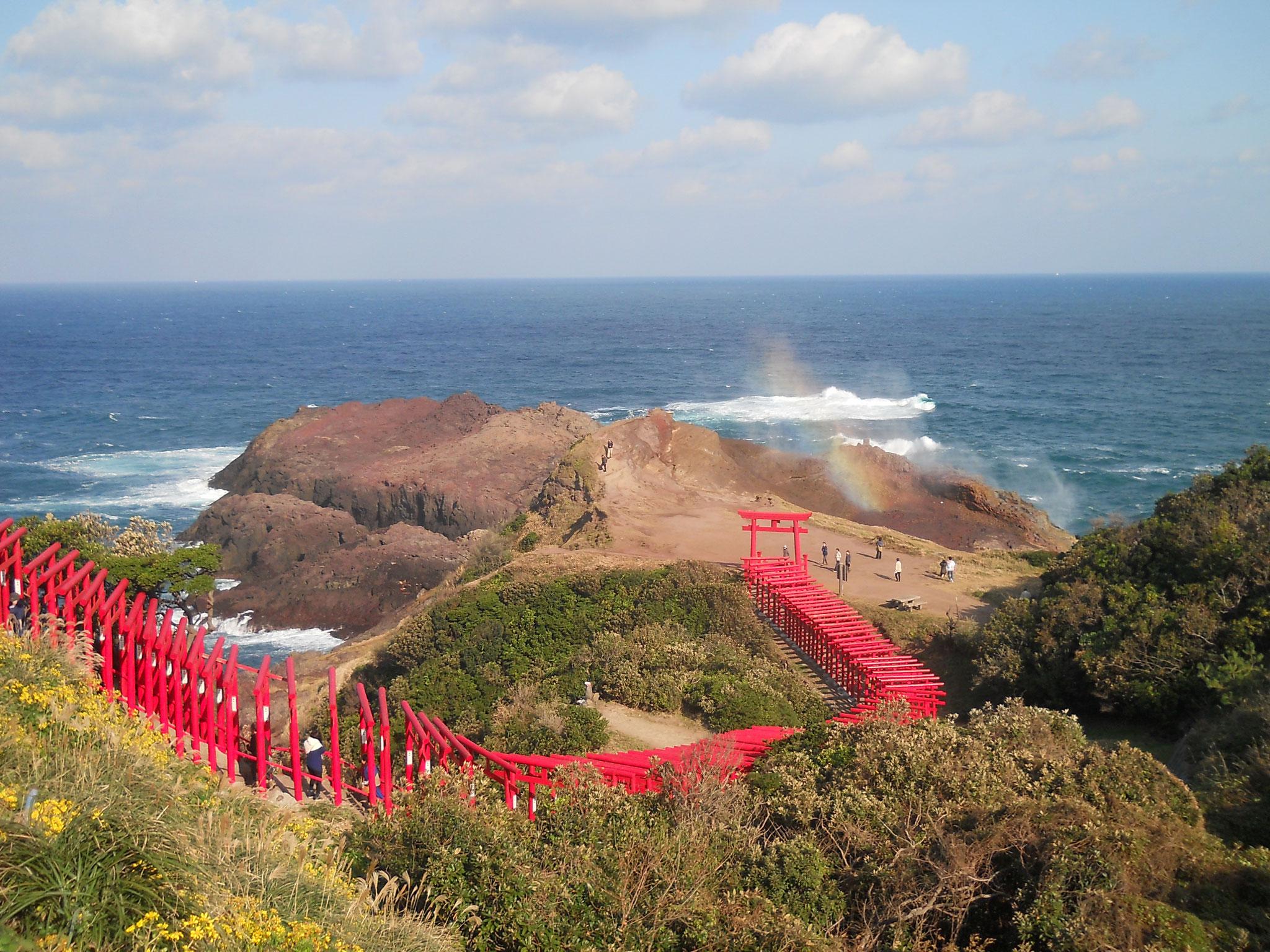 元乃隅稲荷神社(長門市油谷)