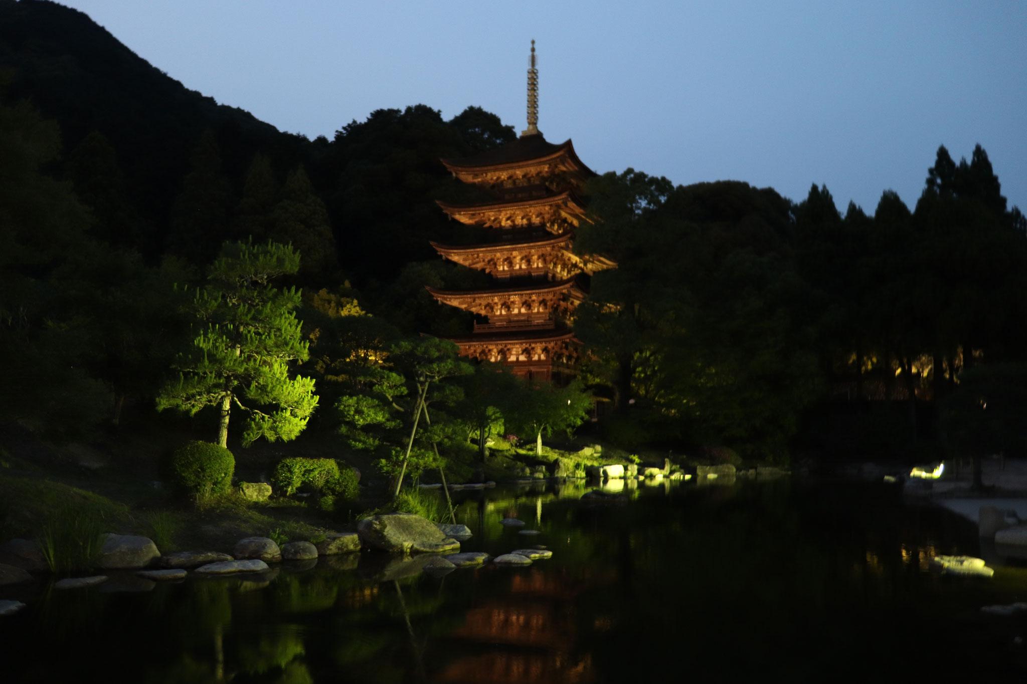 瑠璃光寺五重塔(山口市)