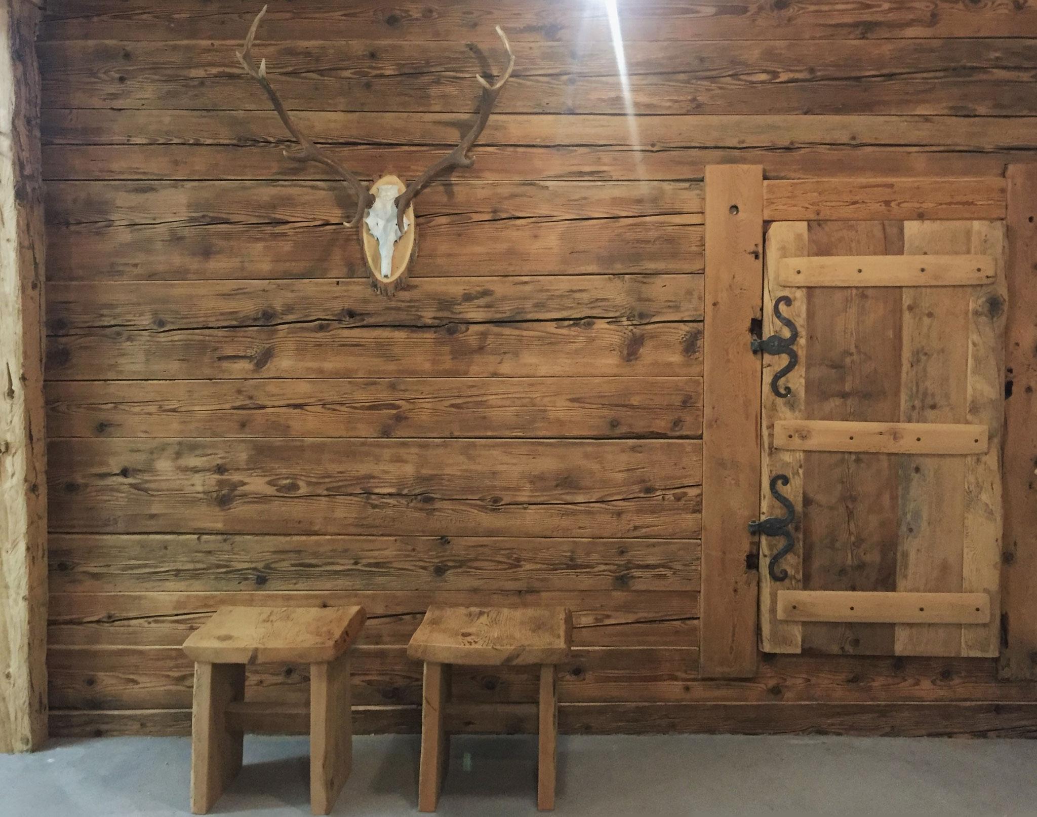 Marc King, Möbel aus Altholz