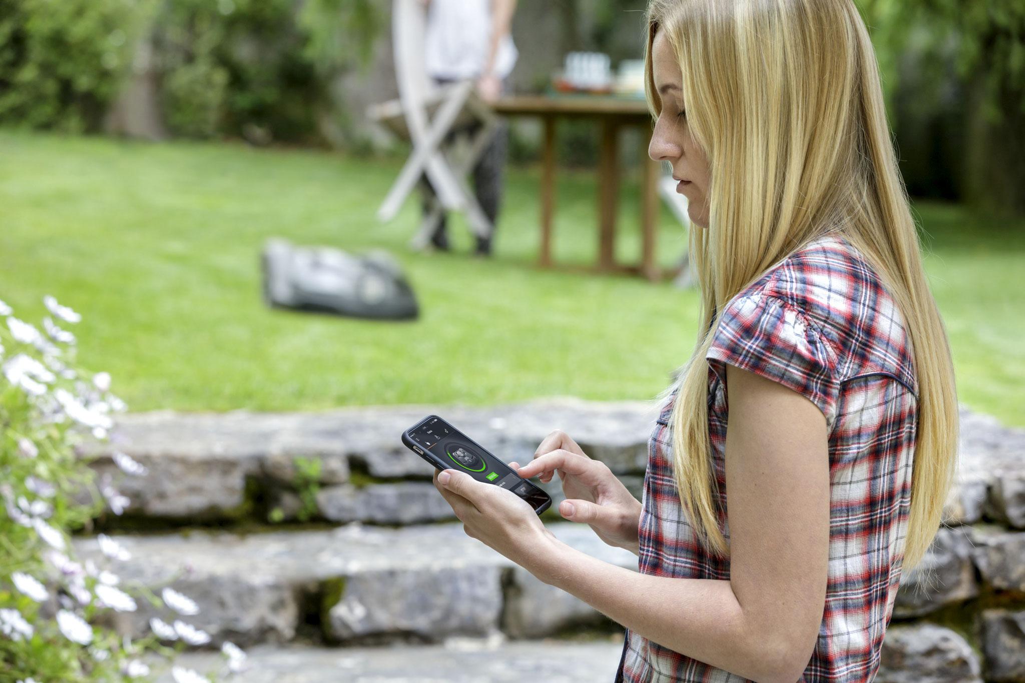 Bedienung per Smartphone