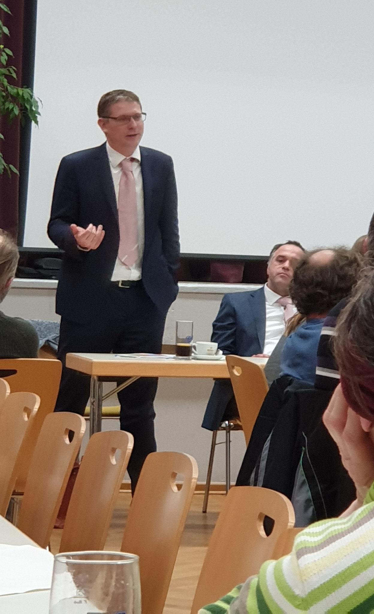 """Gastredner der """" Müllerfleisch Gruppe"""""""