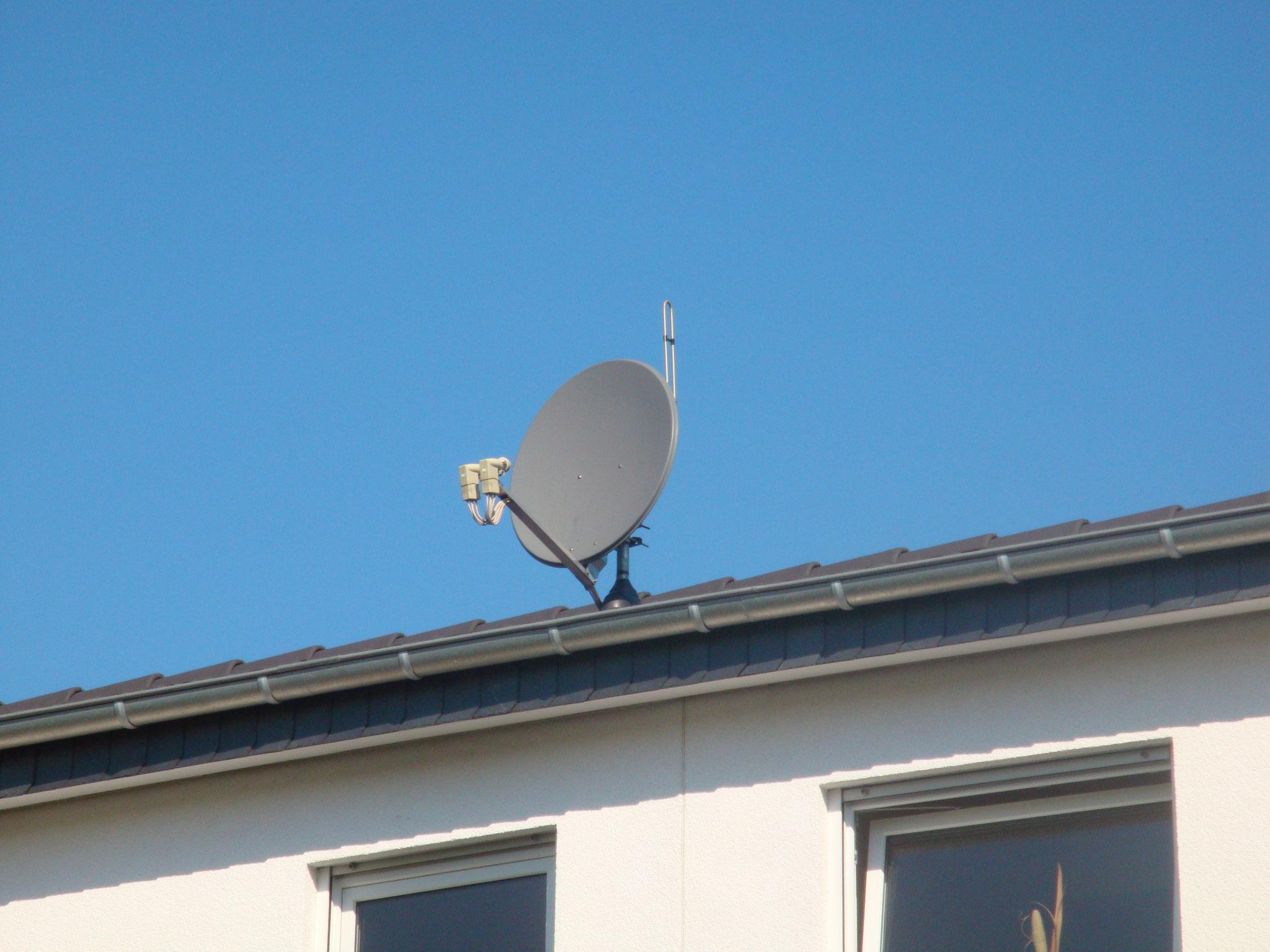 Satelitenempfang z.B. Astra und Eutel