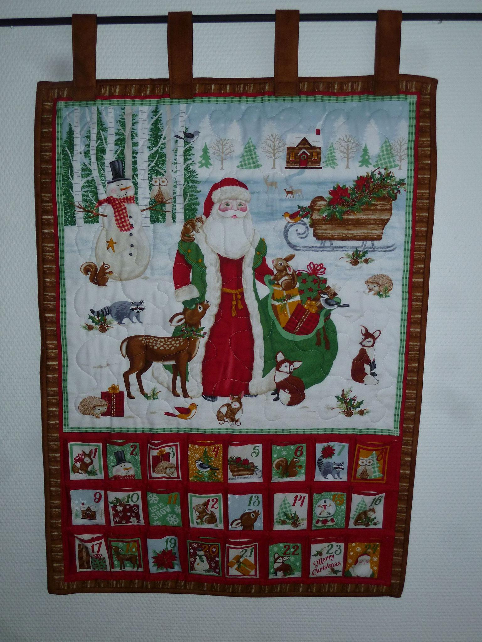 Weihnachtskalender Weihnachtsmann 2017