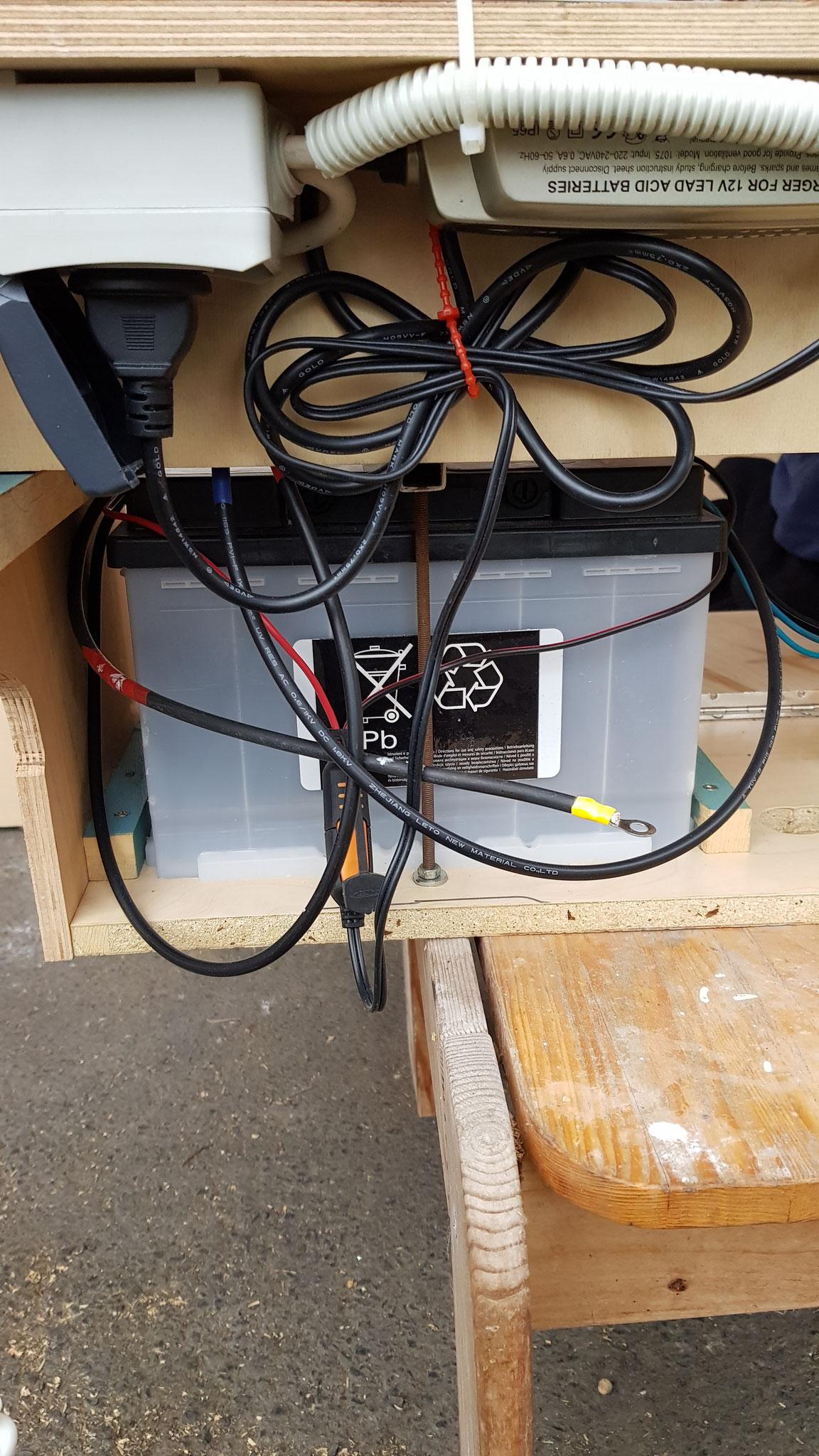 Batterie für die Solaranlage