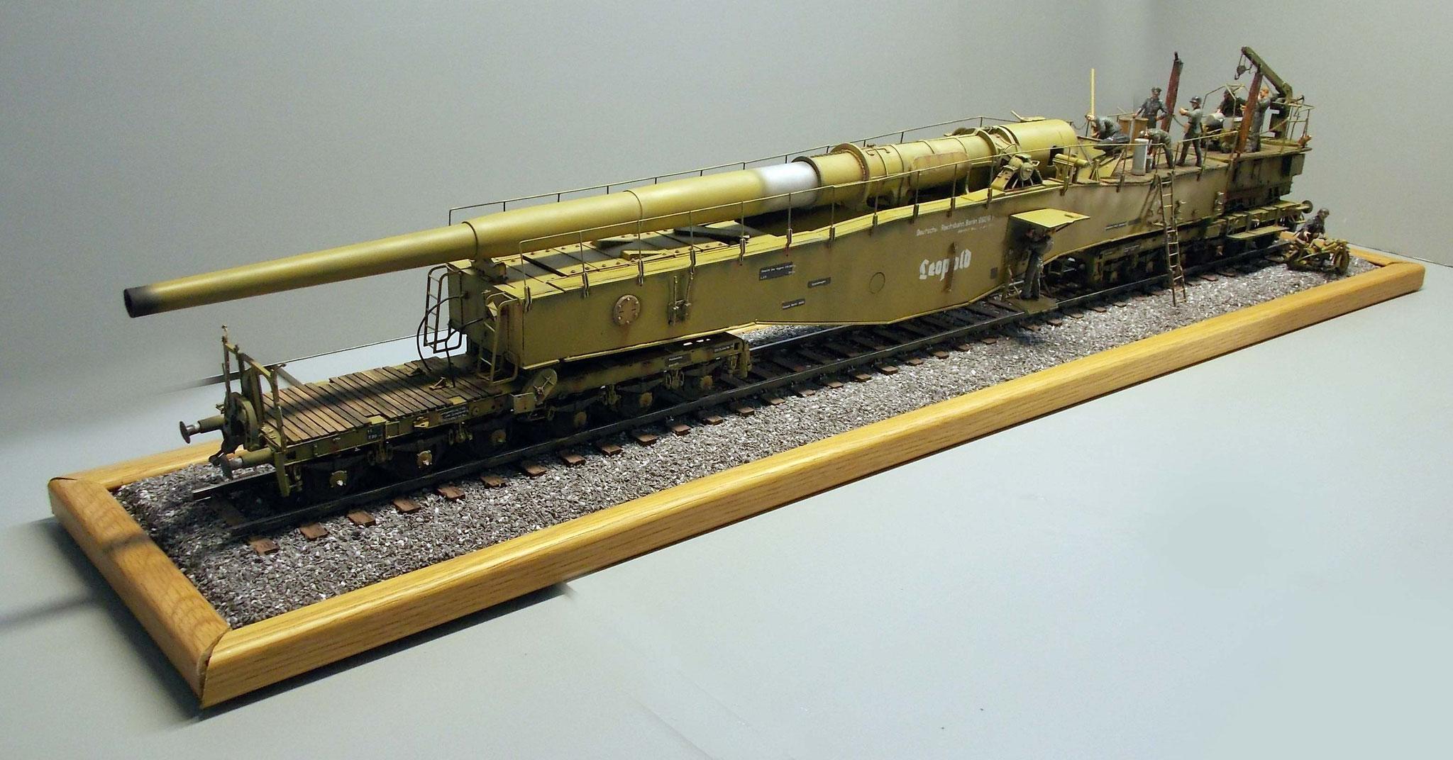 Eisenbahngeschütz dicke berta Dicke Bertha