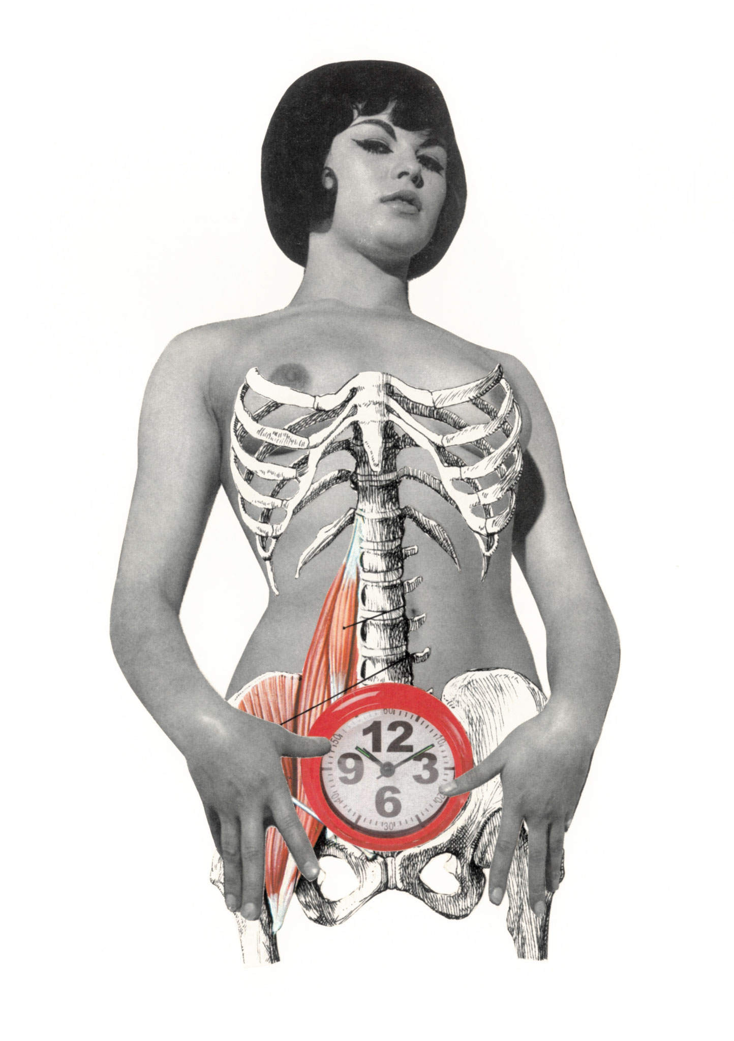 Horloge biologique, 13x21cm, 2019
