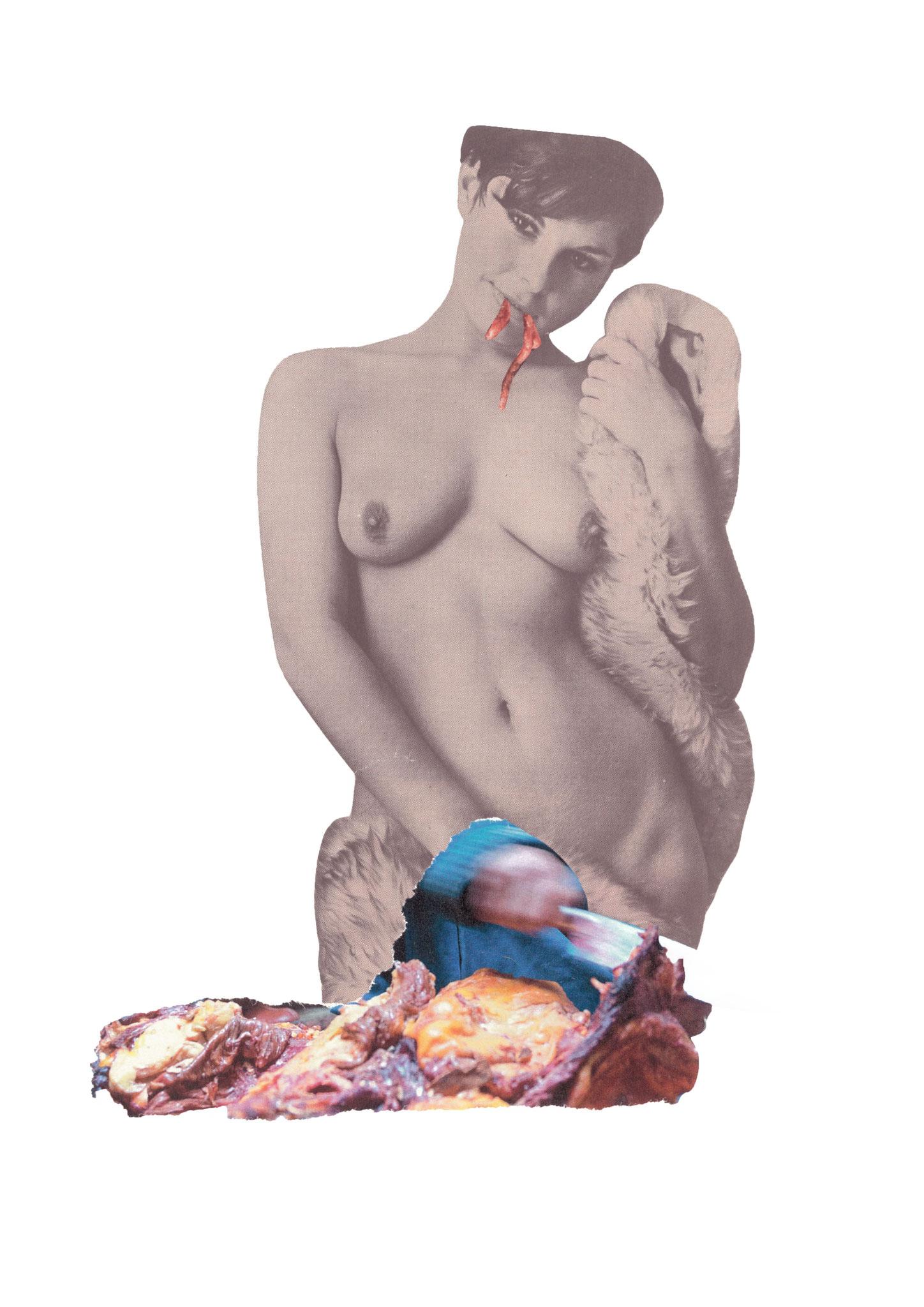 Venus in furs, 21x30cm, 2017