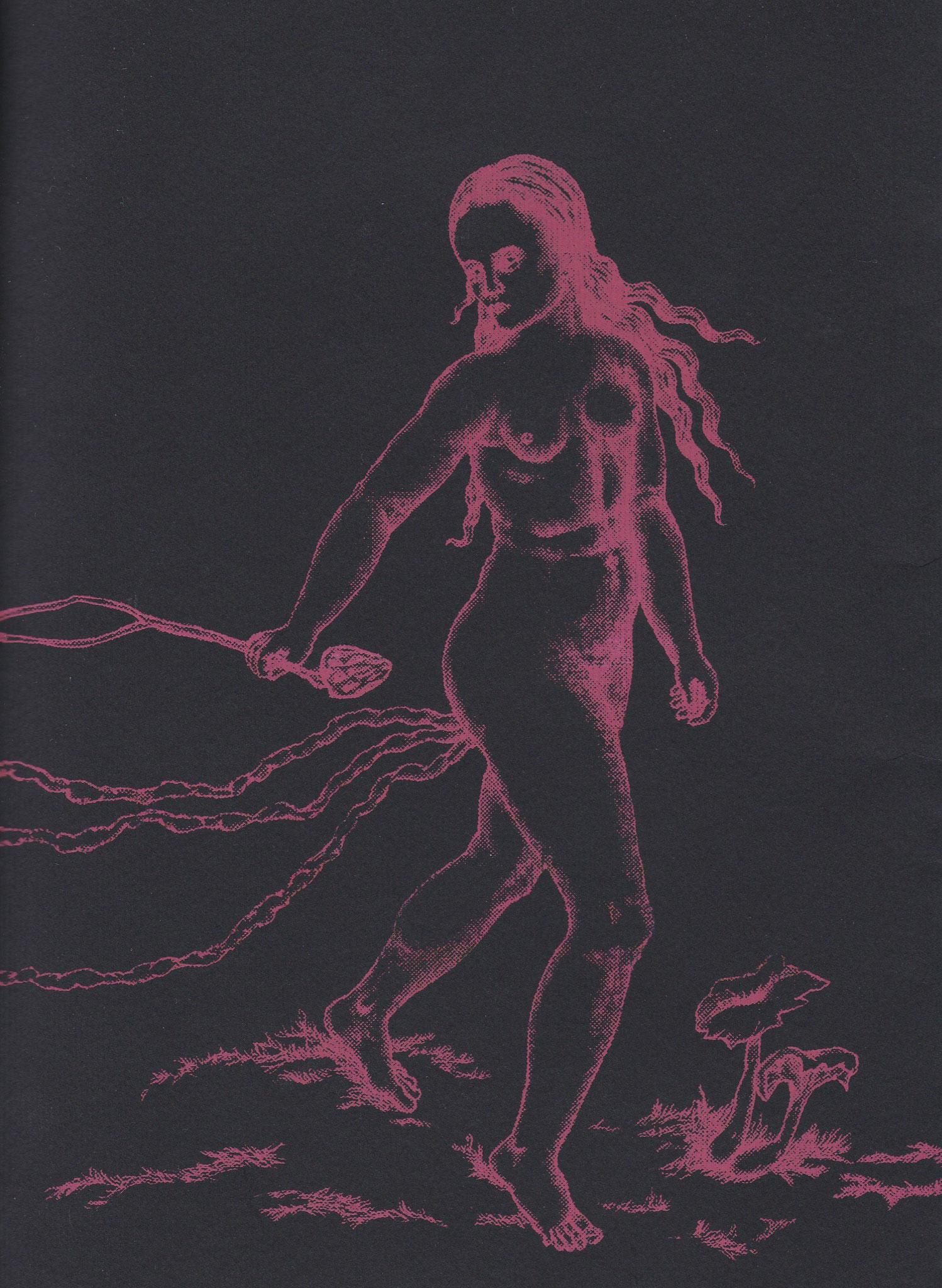 Avortons, Fanzine collectif autour des avortements de 40 pages, édité à 100 exemplaires, 15.5x21cm, Pole Ka, 2020