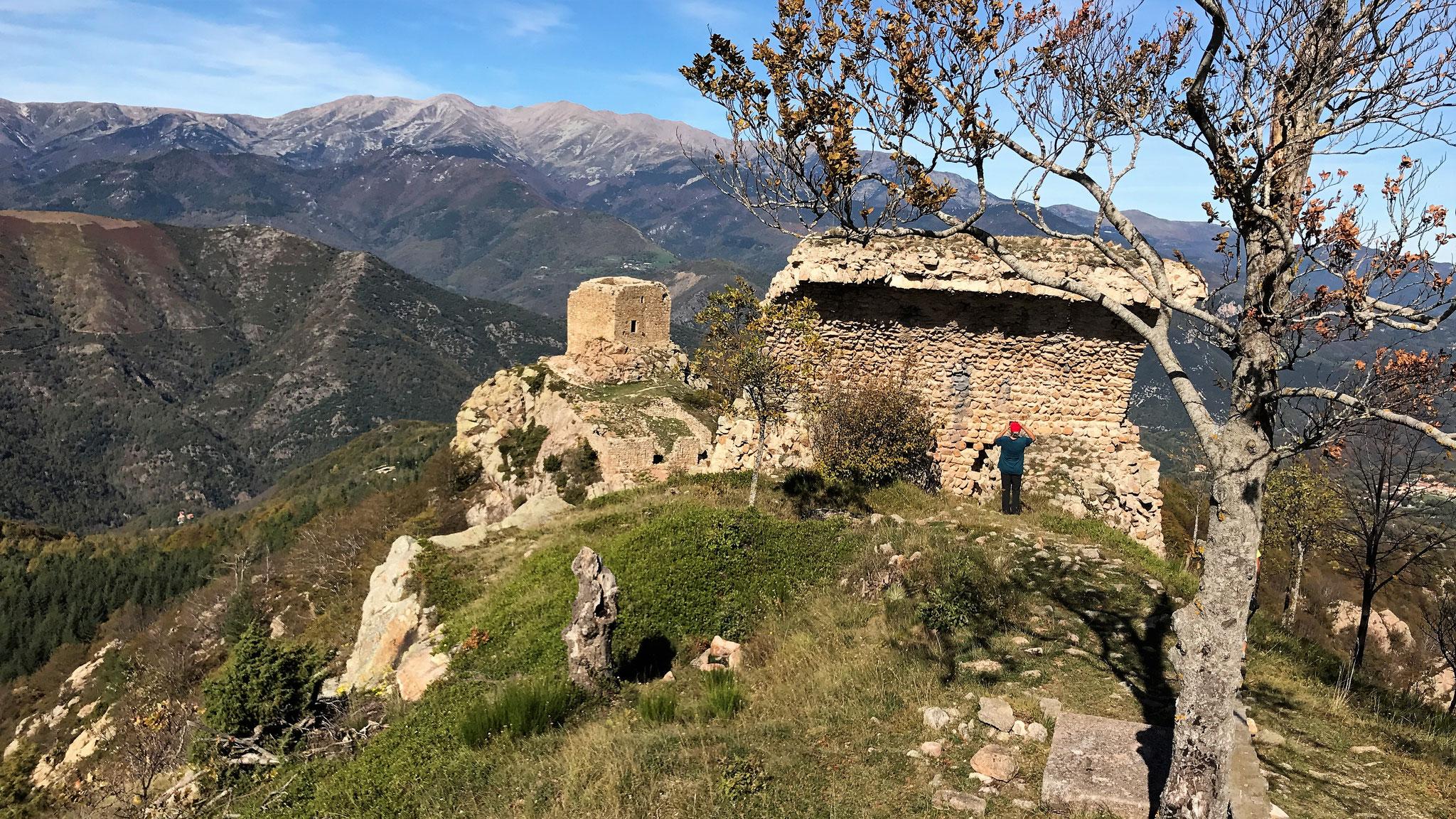 Lamanere - Les tours de Cabrens - 24 octobre 2017