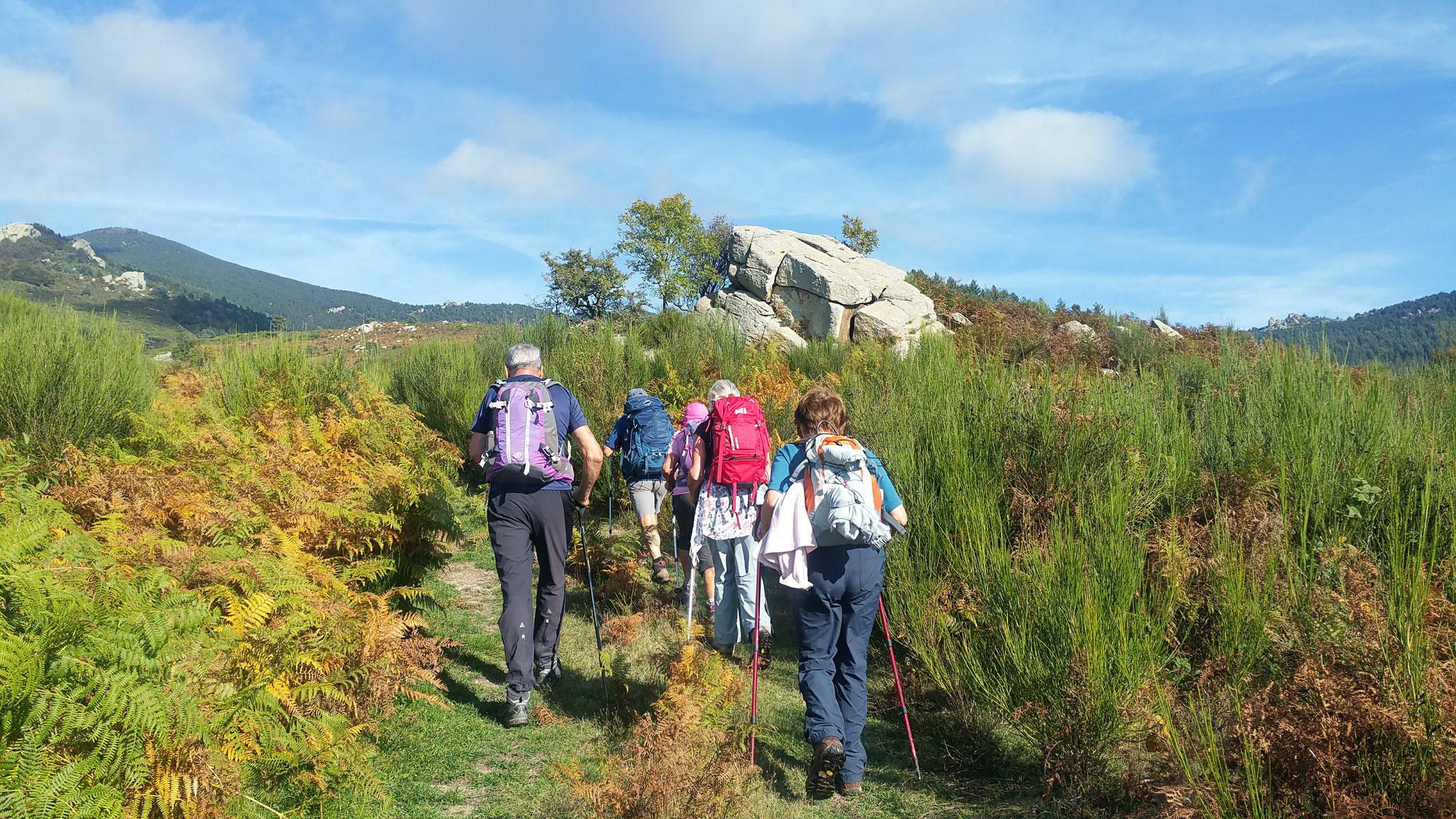 La Llau - Refuge de St Guillem - 10 octobre 2017