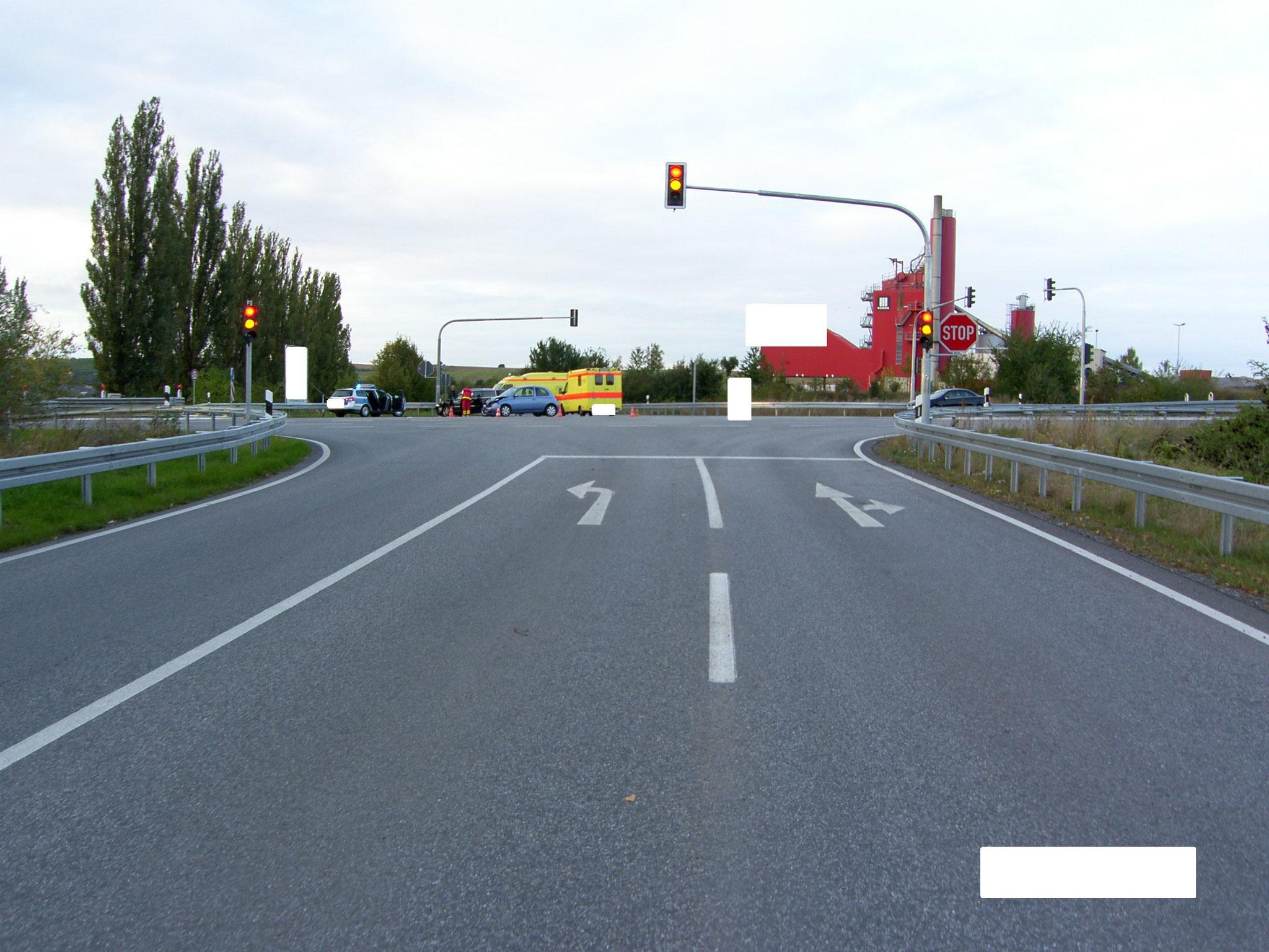 Fahrtweg PKW NIssan