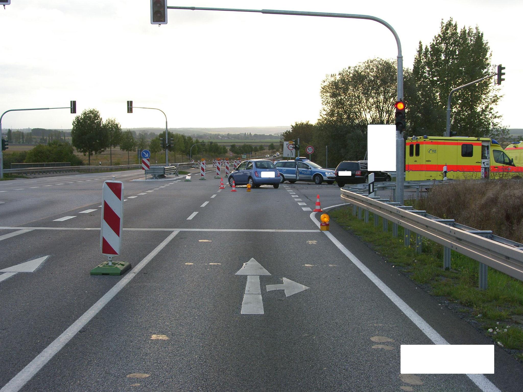 Fahrtweg PKW VW Passat