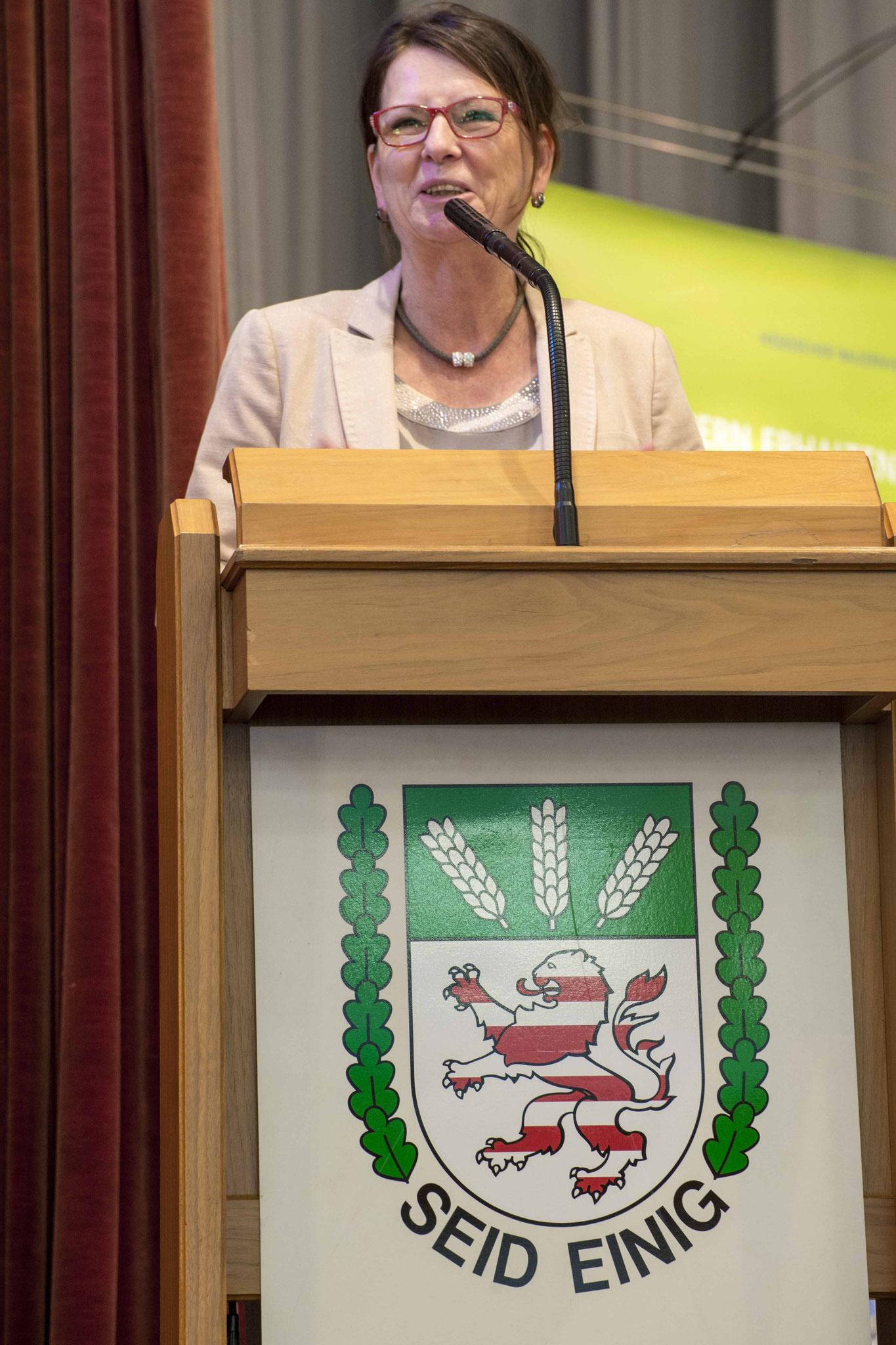 Die Hessische Landwirtschaftsministerin Priska Hinz