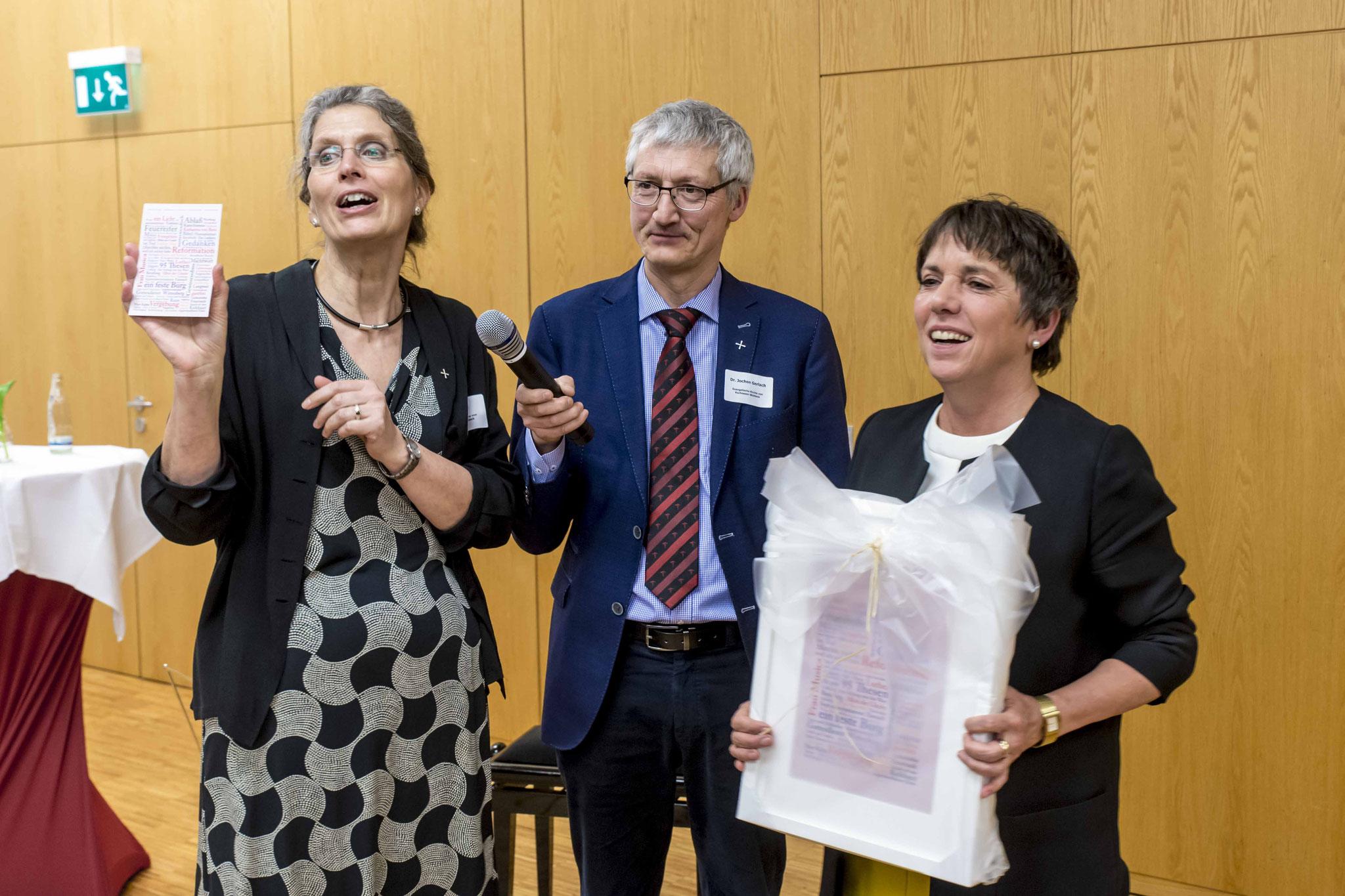 Ute Göpel, Jochen Gerlach und Margot Käßmann