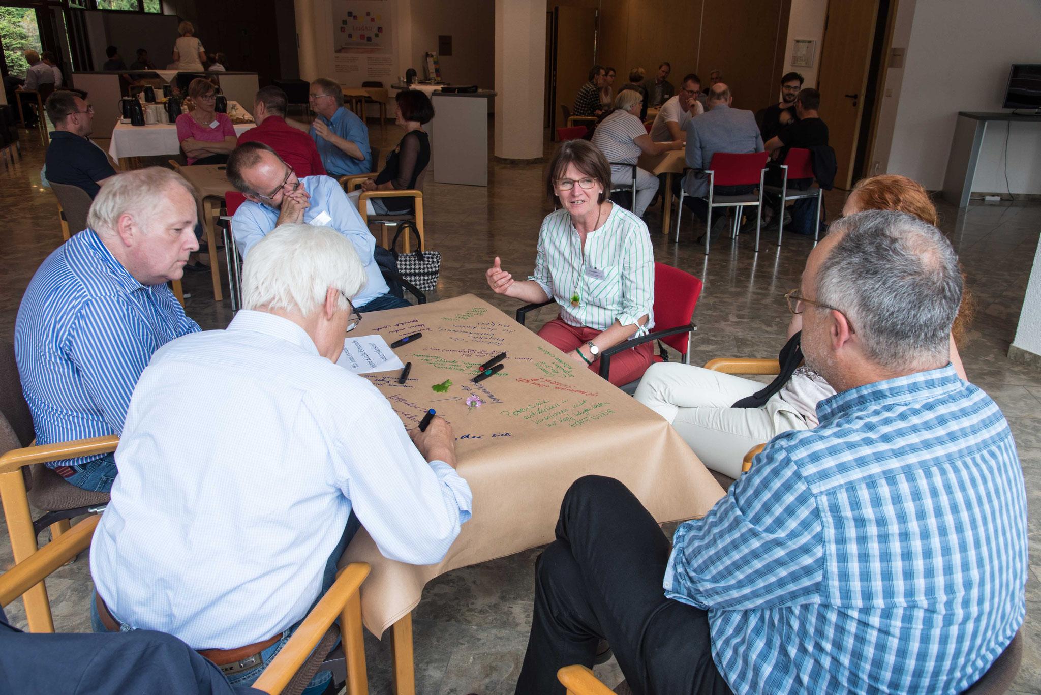 Auswertung der Projektbesuche im Worldcaféf