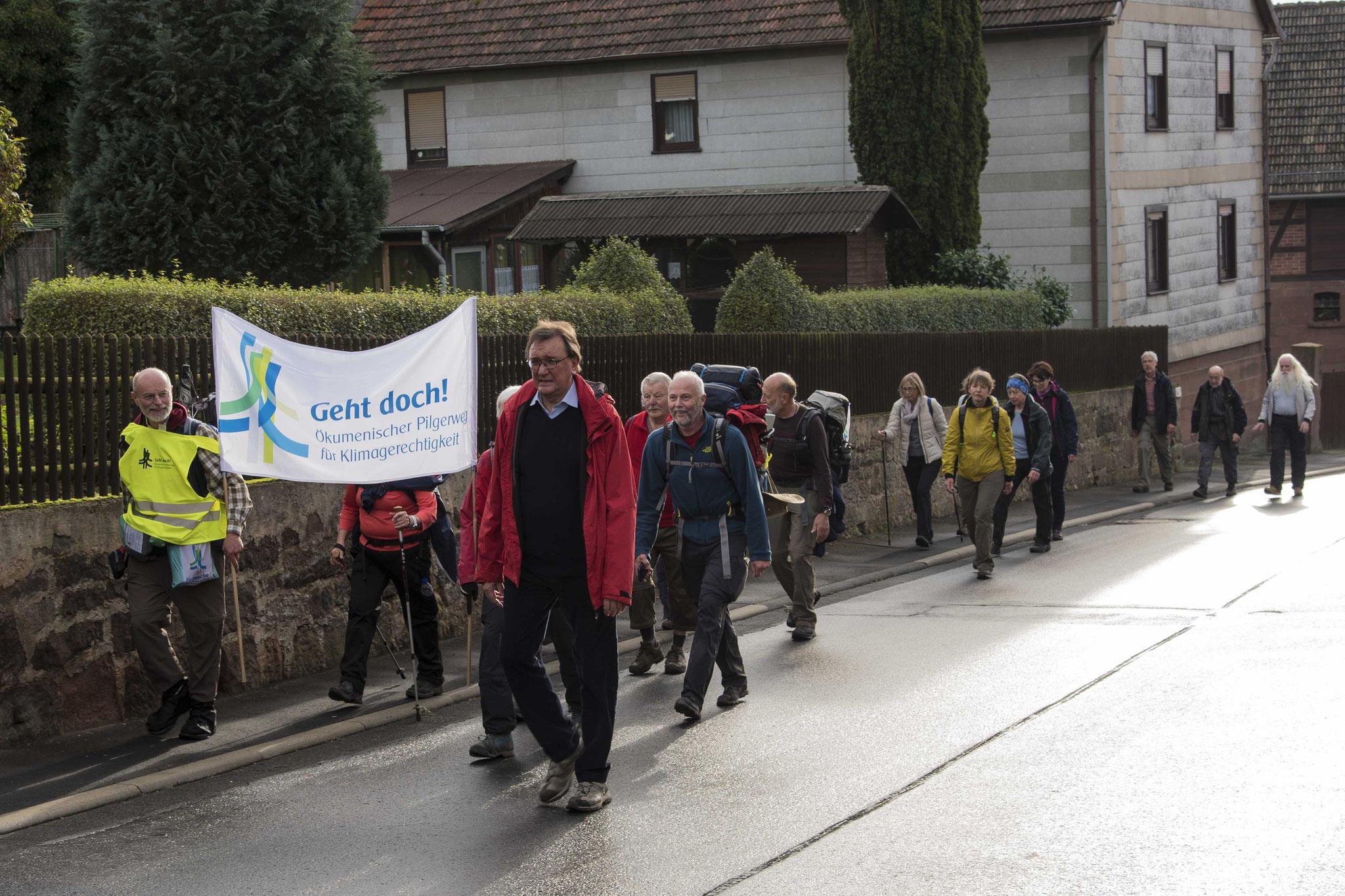 Ankunft in Langenstein