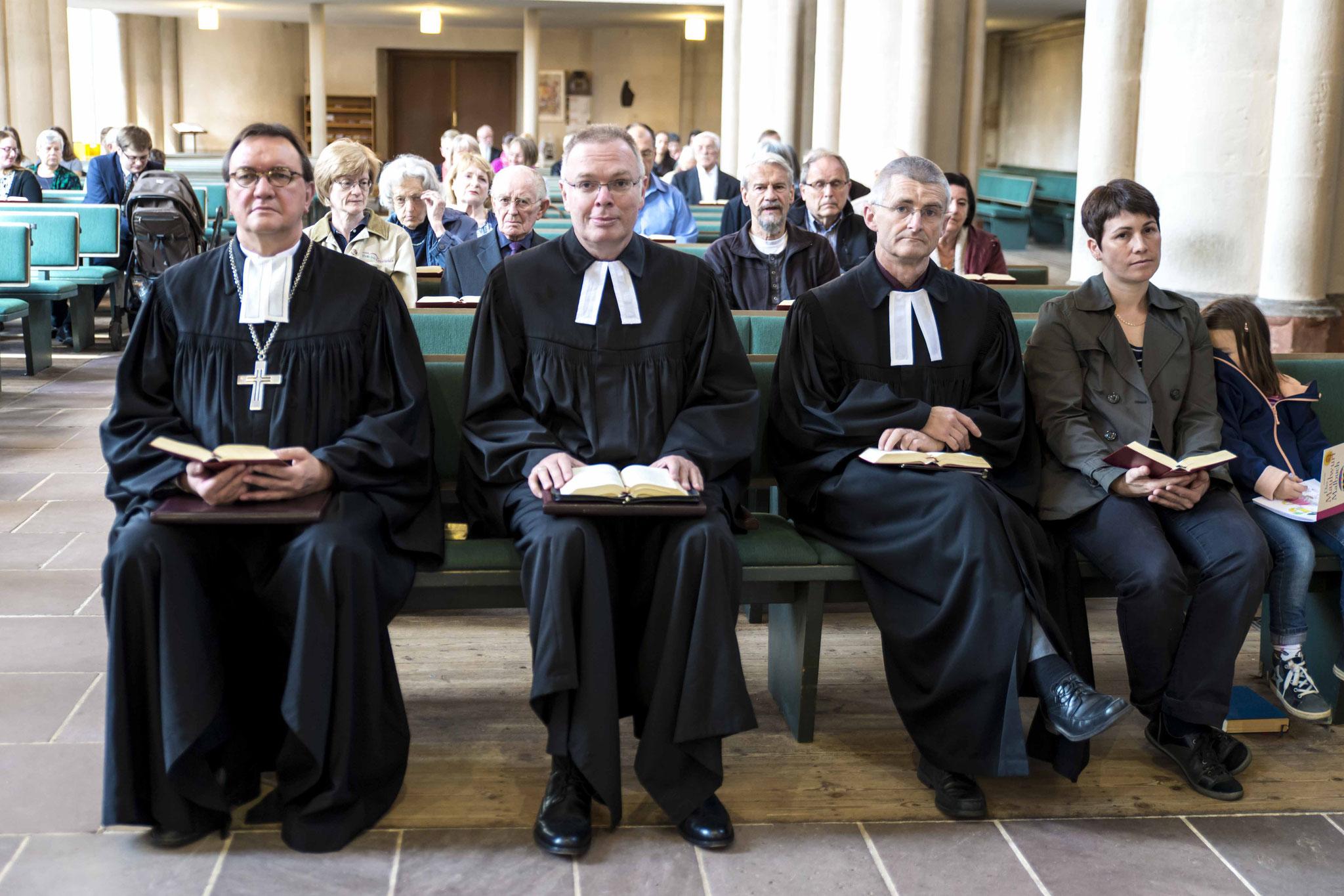 Abschlussgottesdienst in der Lutherischen Pfarrkirche