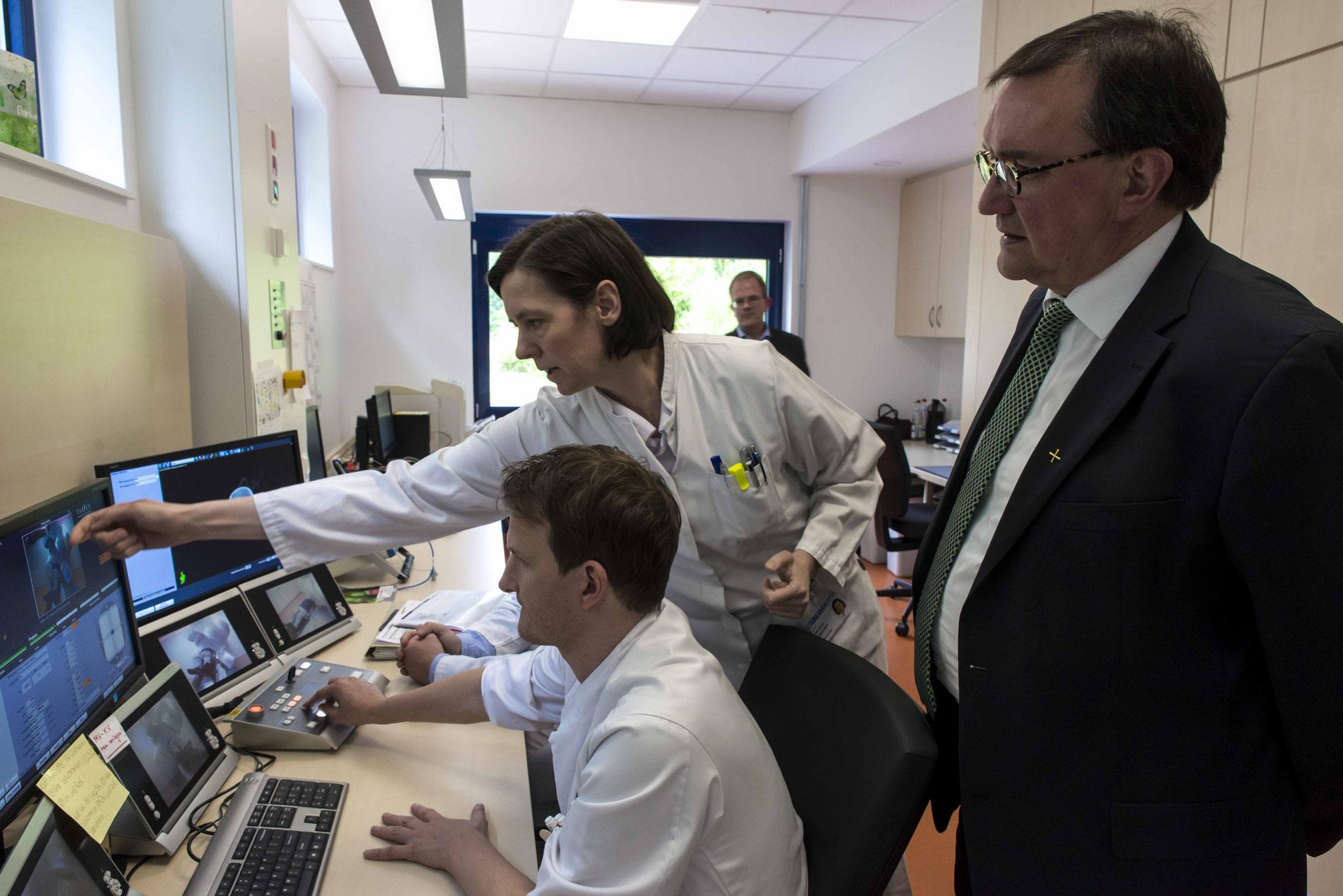 Vorstellung der Röntgenonkologie durch Prof. Dr. Hilke Vorwerk