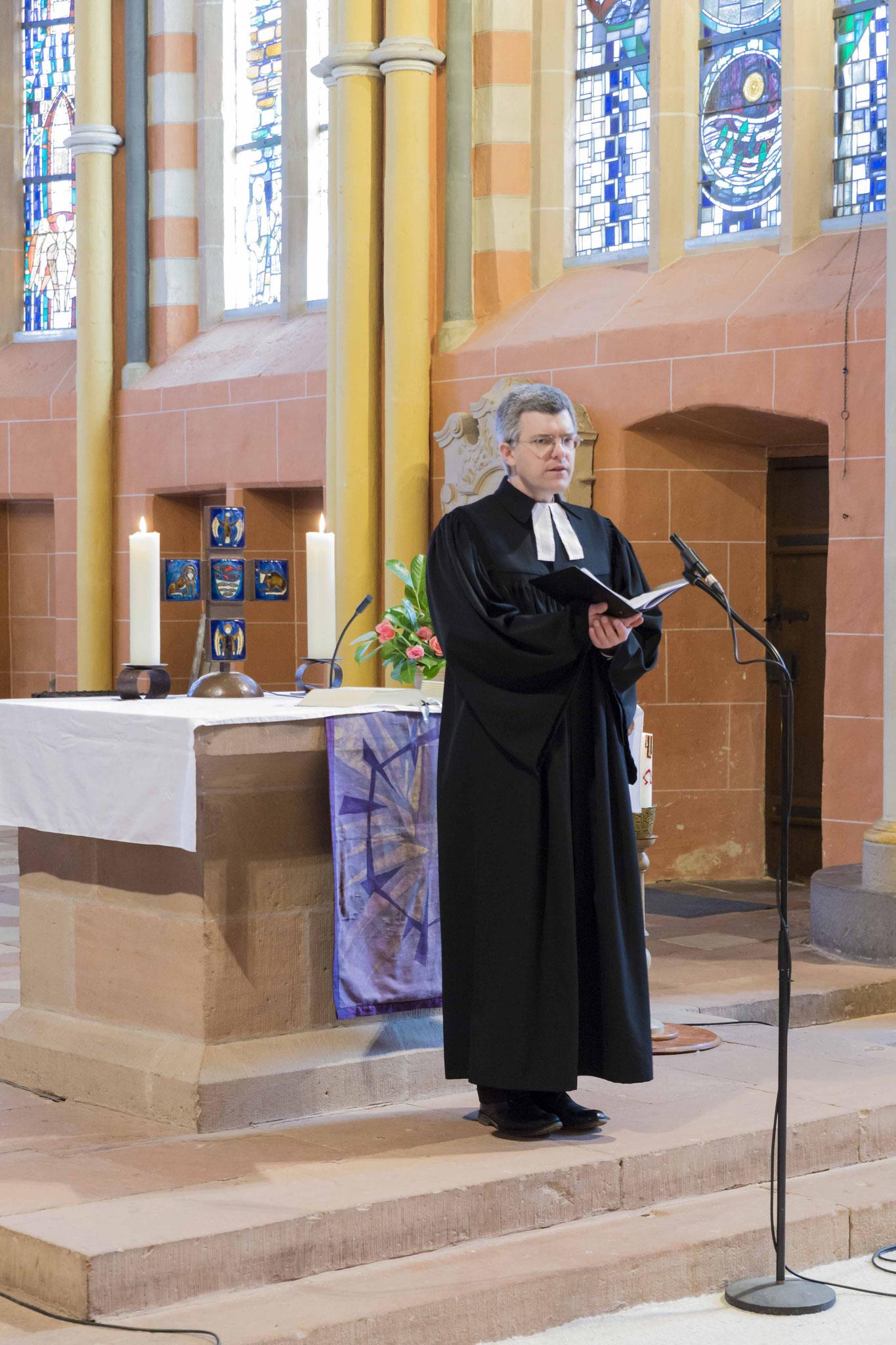 Pfarrer Dr. Matthias Franz