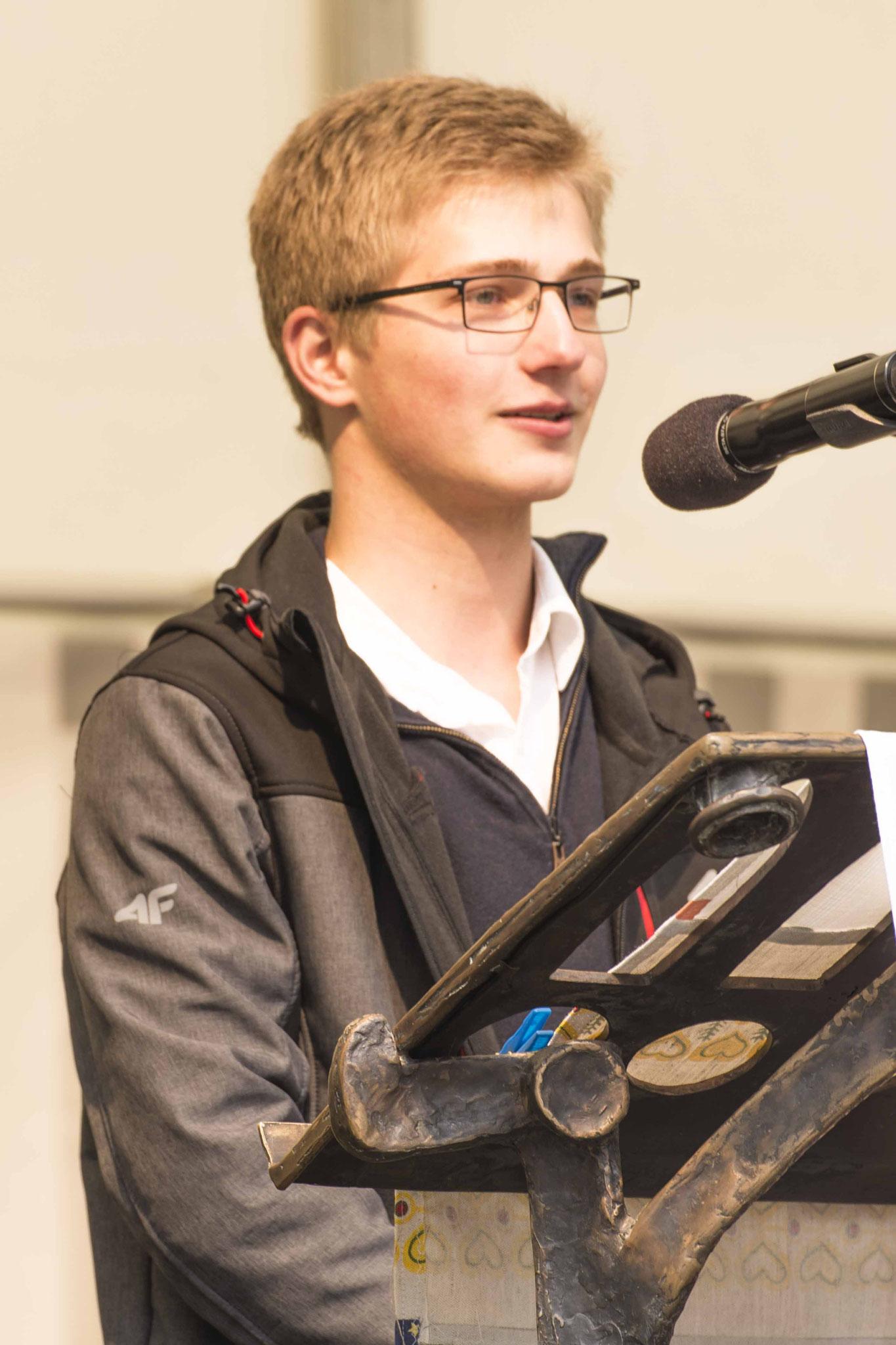 Jan Huber, Posaunenchor