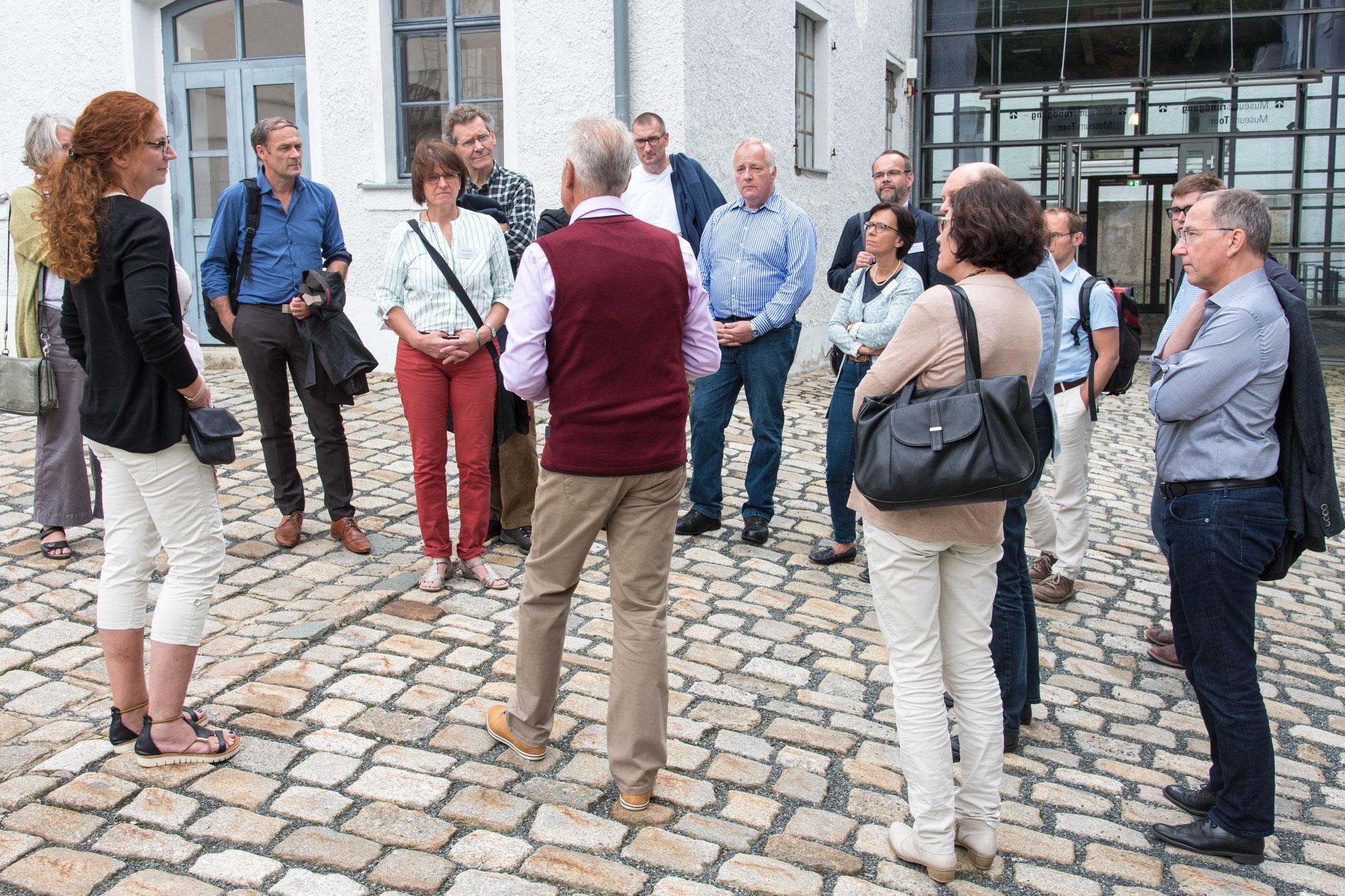 Im Rahmenprogramm wurde das Museum der Porzellanmanufaktur Rosenthal in Selb besucht