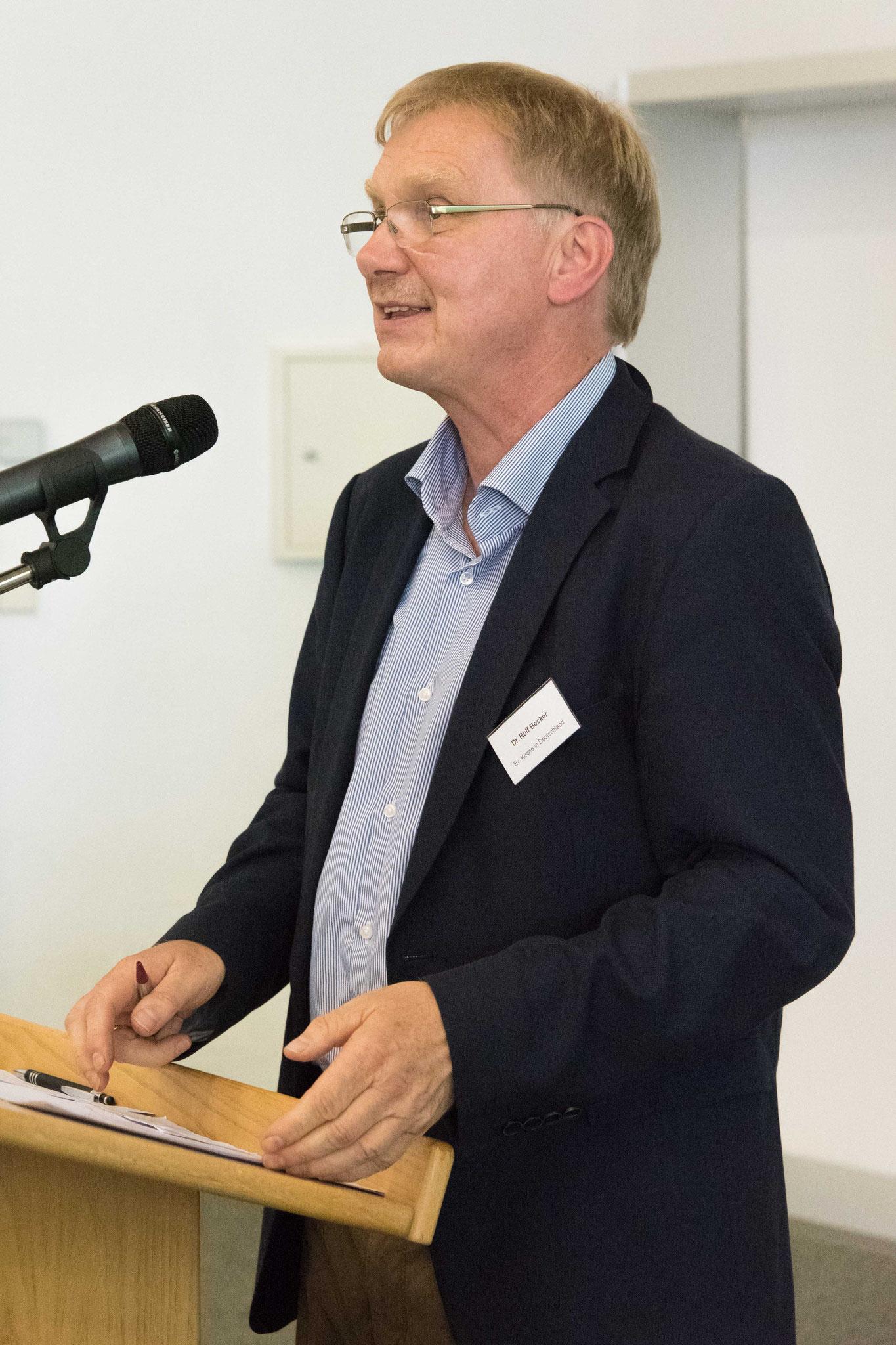 Dr. Peter Becker, AG der Land-Kirchen-Konferenz, Moderation