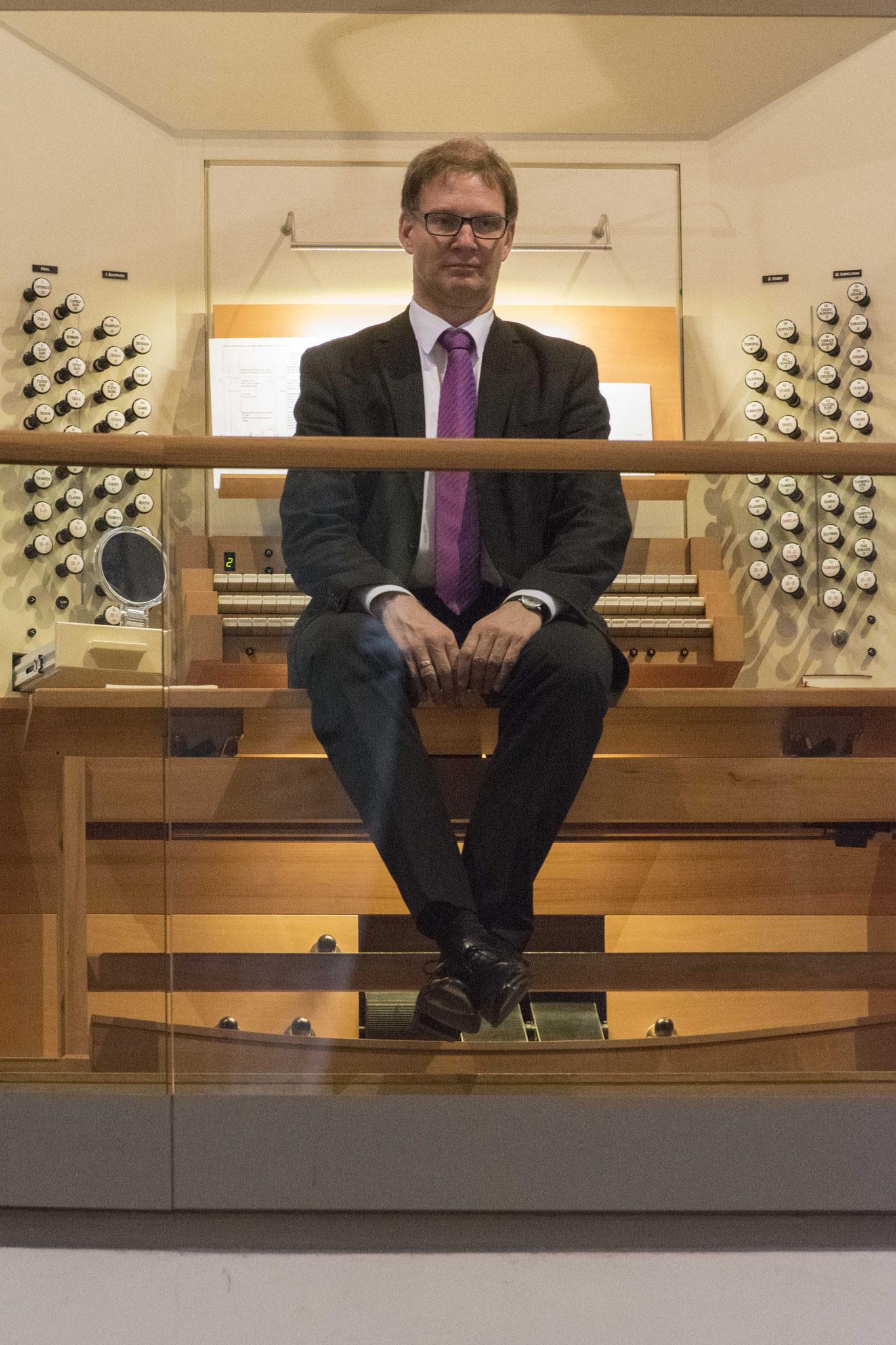 Organist Nils Kuppe