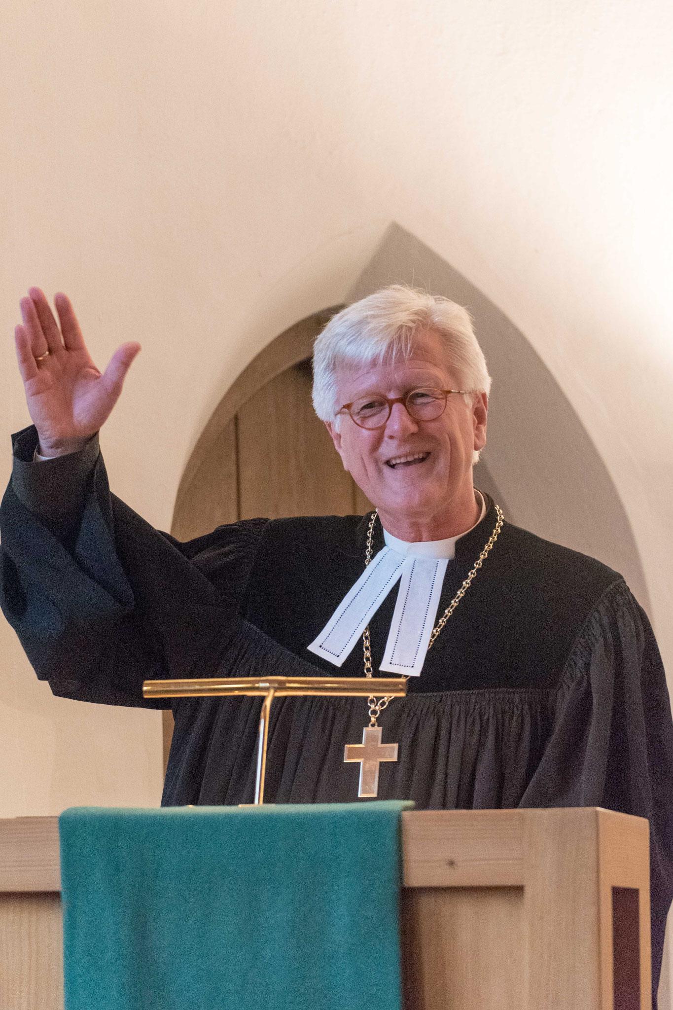 Bischof Prof. Dr. Heinrich Bedford-Strohm predigte im Eröffnungsgottesdienst