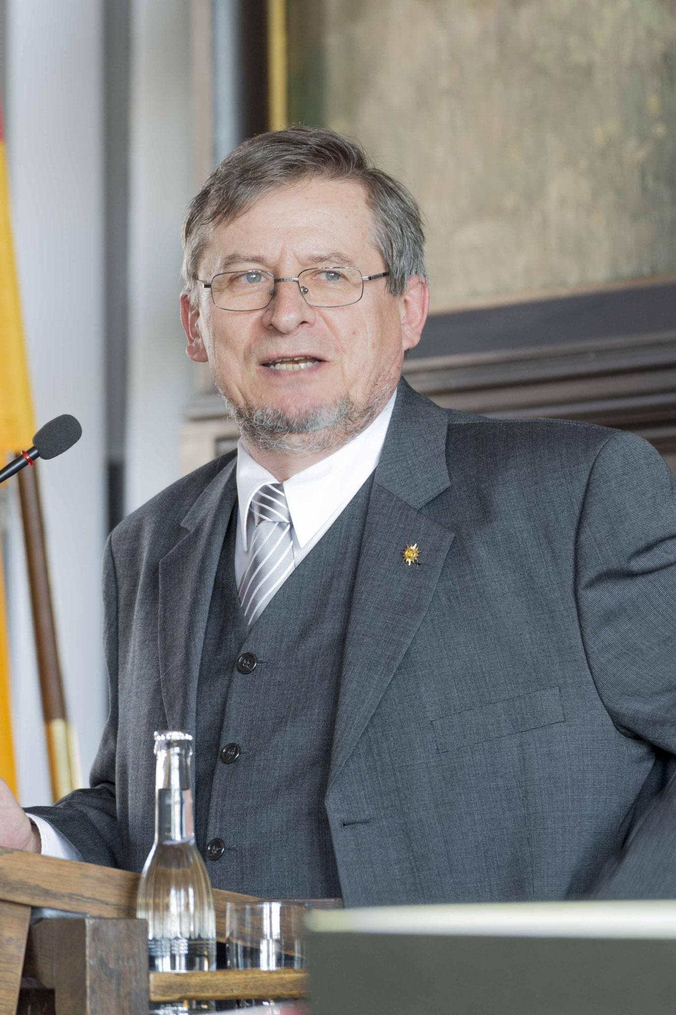 Ordinariatsrat Hans Jürgen Dörr, Landesbeauftragter für die katholische Polizeiseelsorge im Lande Hessen
