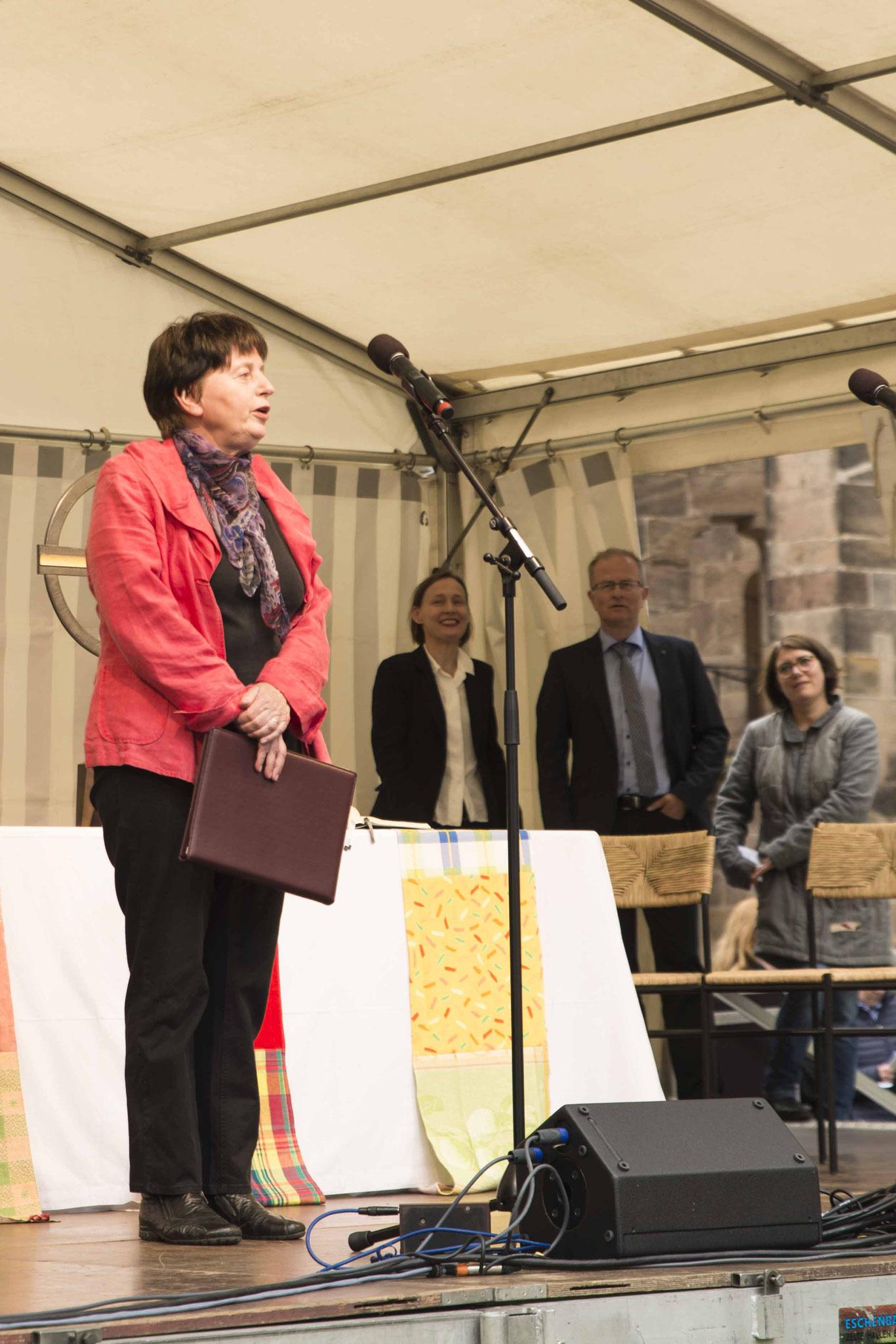 Kirchenversteherin Susanne Hofacker