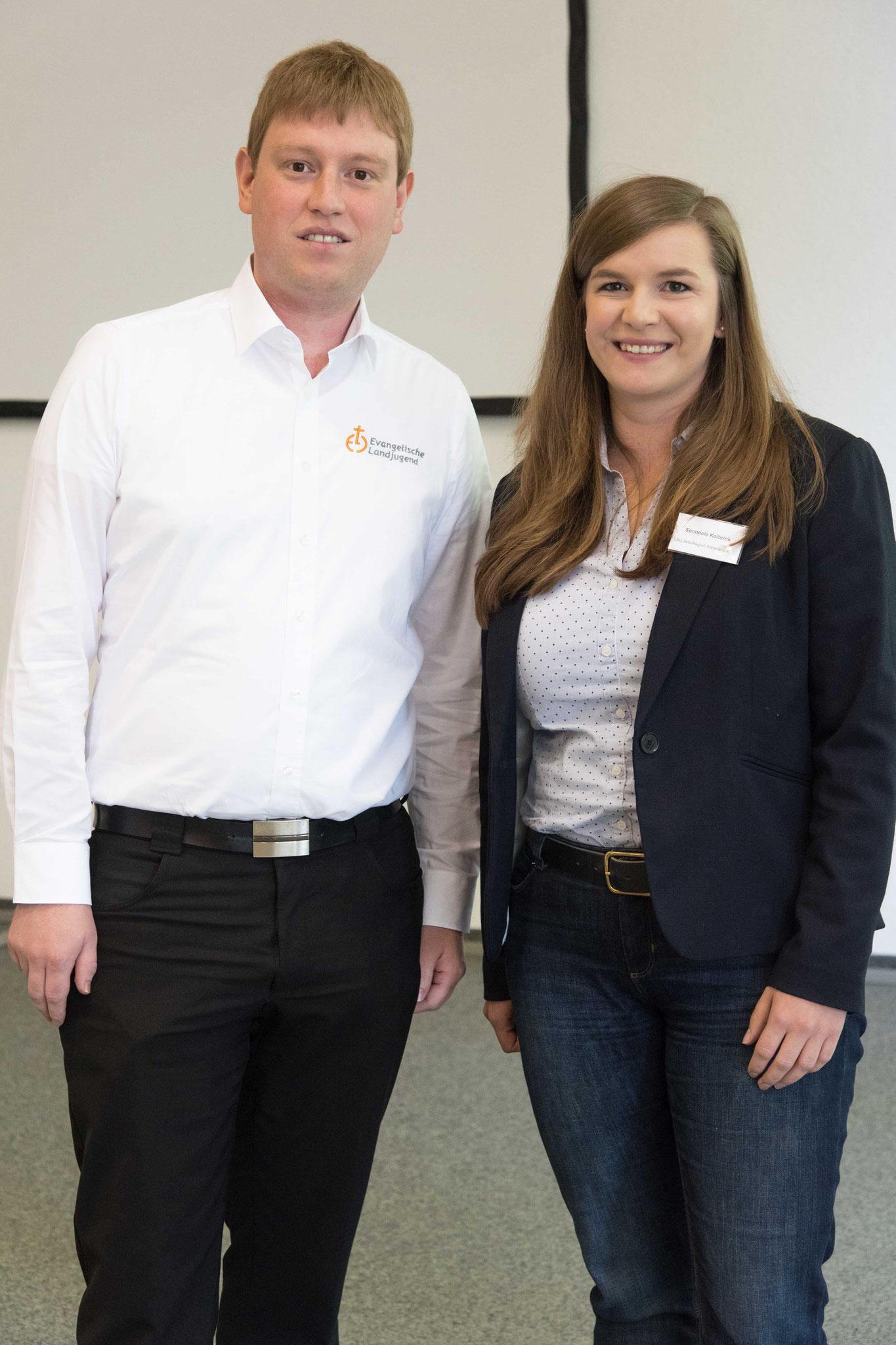 Sonnele Kolbrink und Stefan Kittsteiner waren Prozessbeobachter der Konferenz