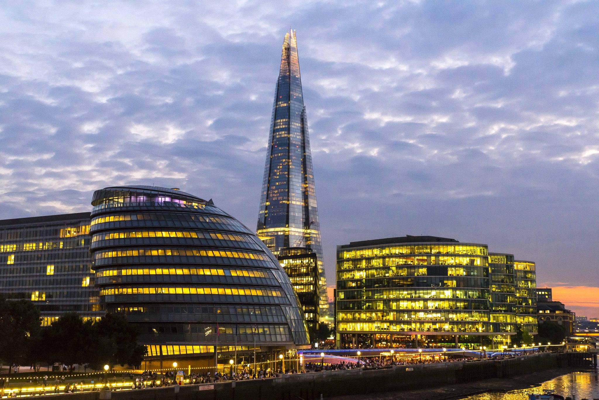 London City Hall und The Shard