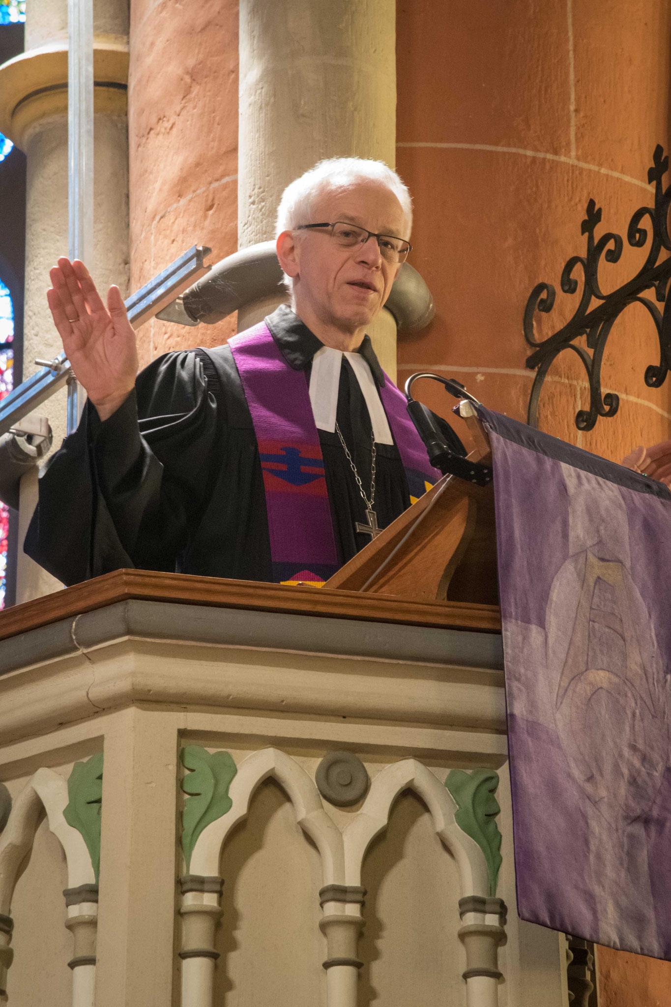 Propst Helmut Wöllenstein predigte