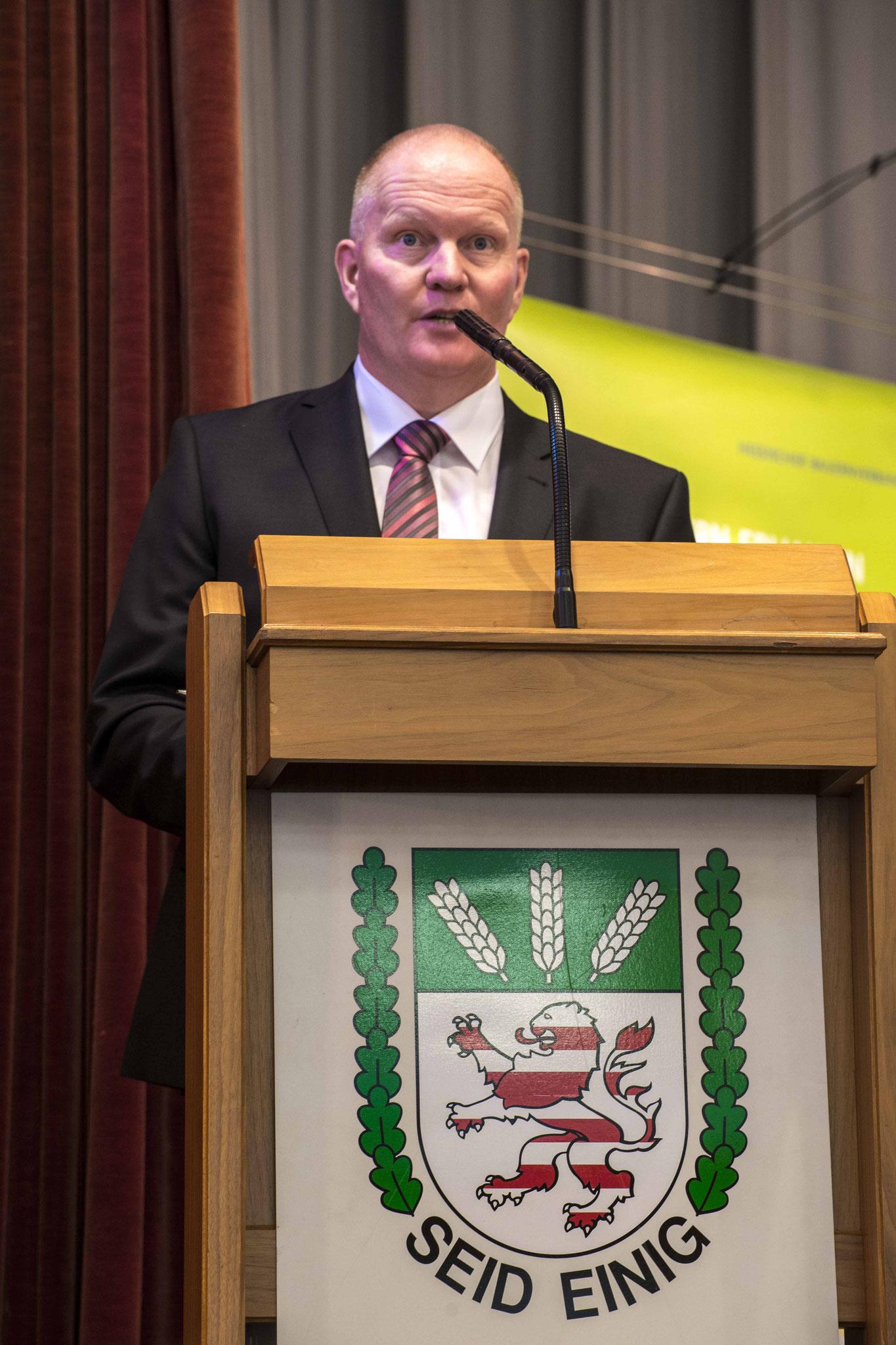Begrüßungsansprache Präsident Karsten Schmal