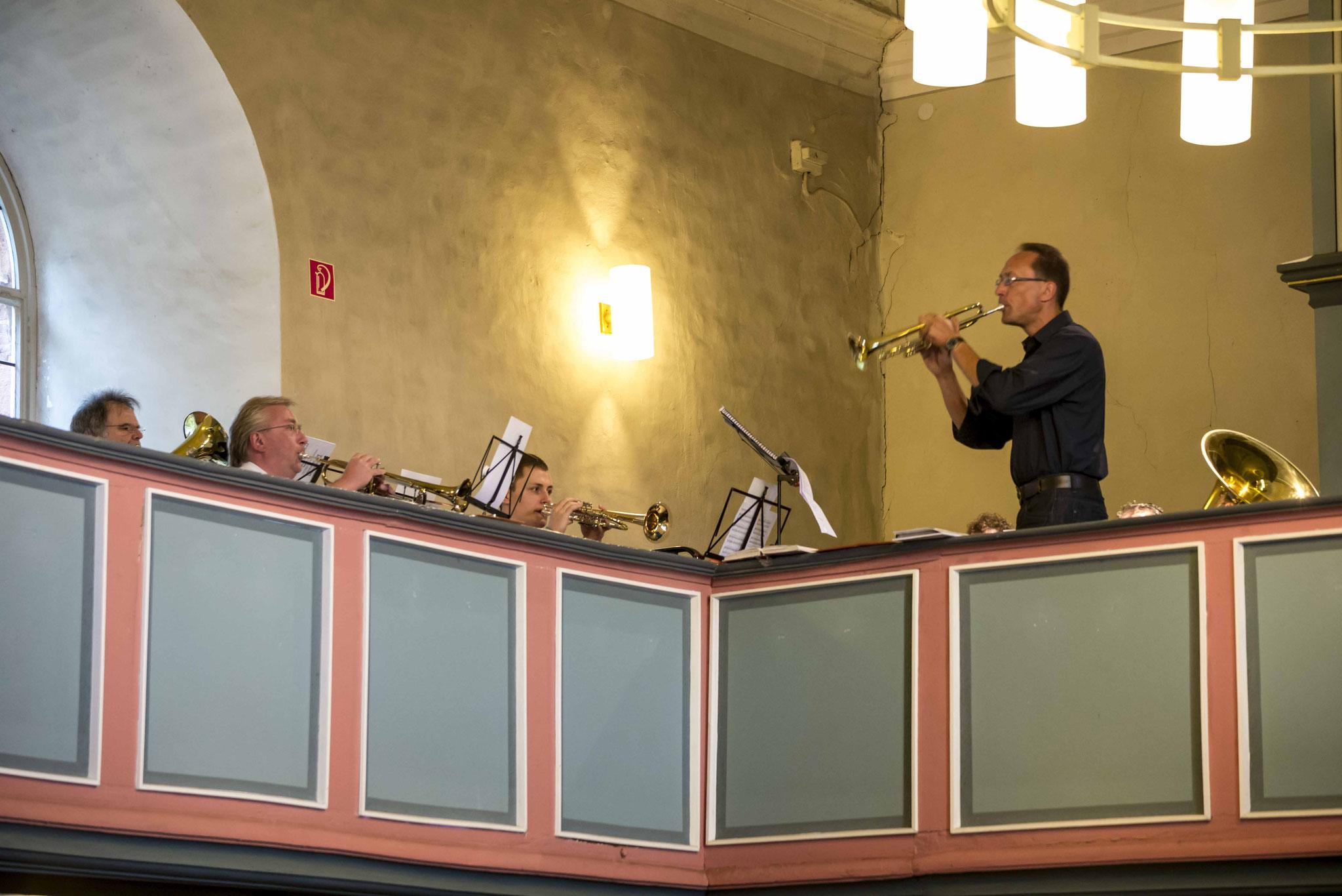 Der Posaunenchor der Gemeinde Sachsenberg
