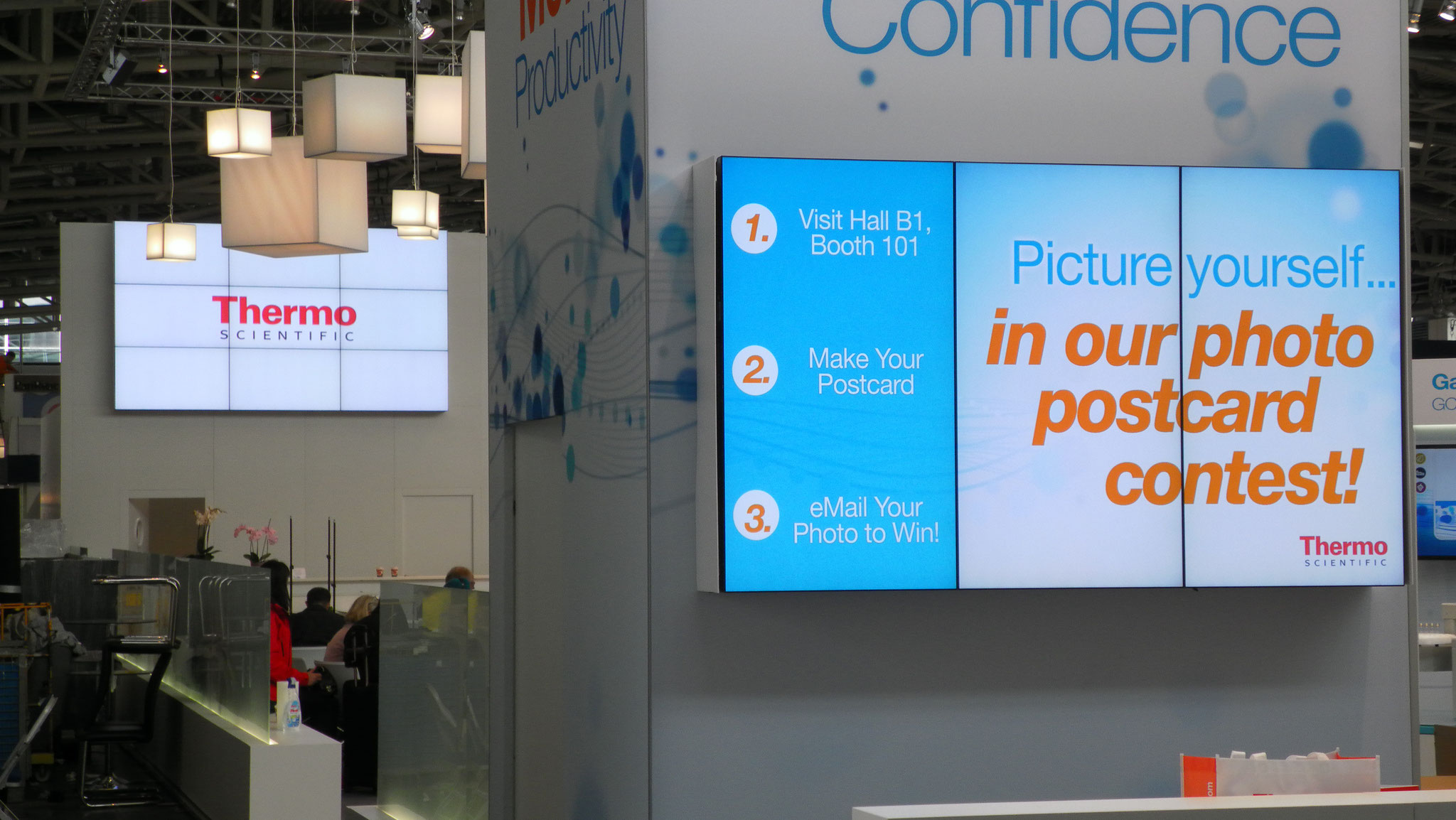Fair Munich - Analytica - Displays - Seamless Videowalls