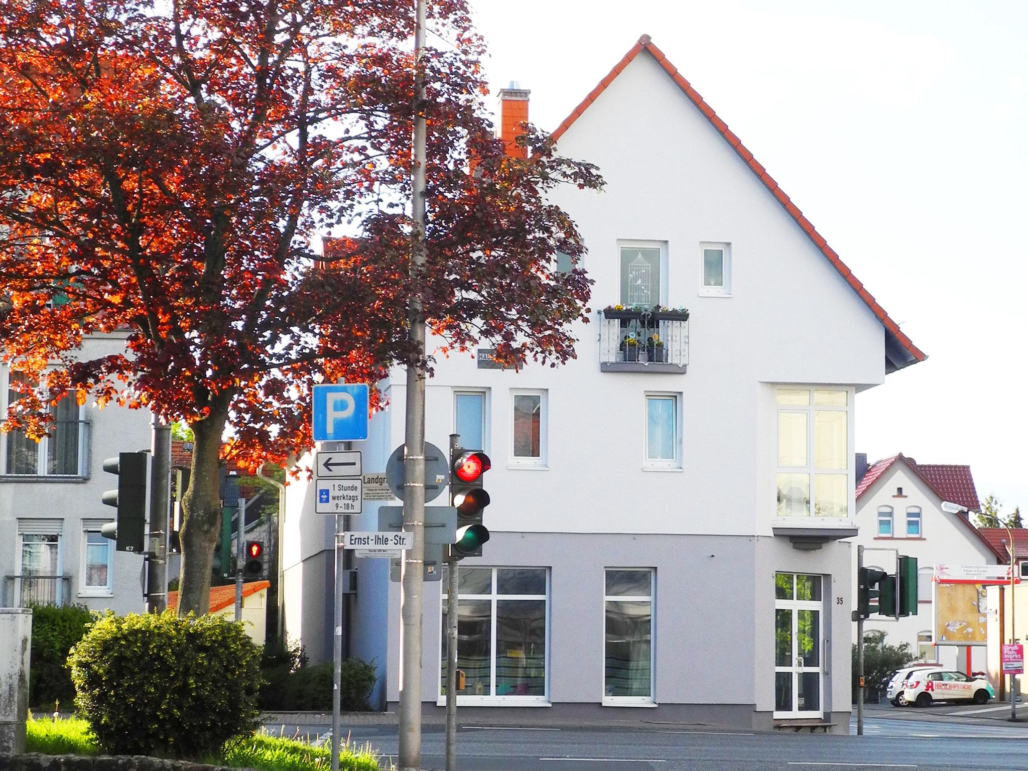 Fassade vorher - Schwalmstadt