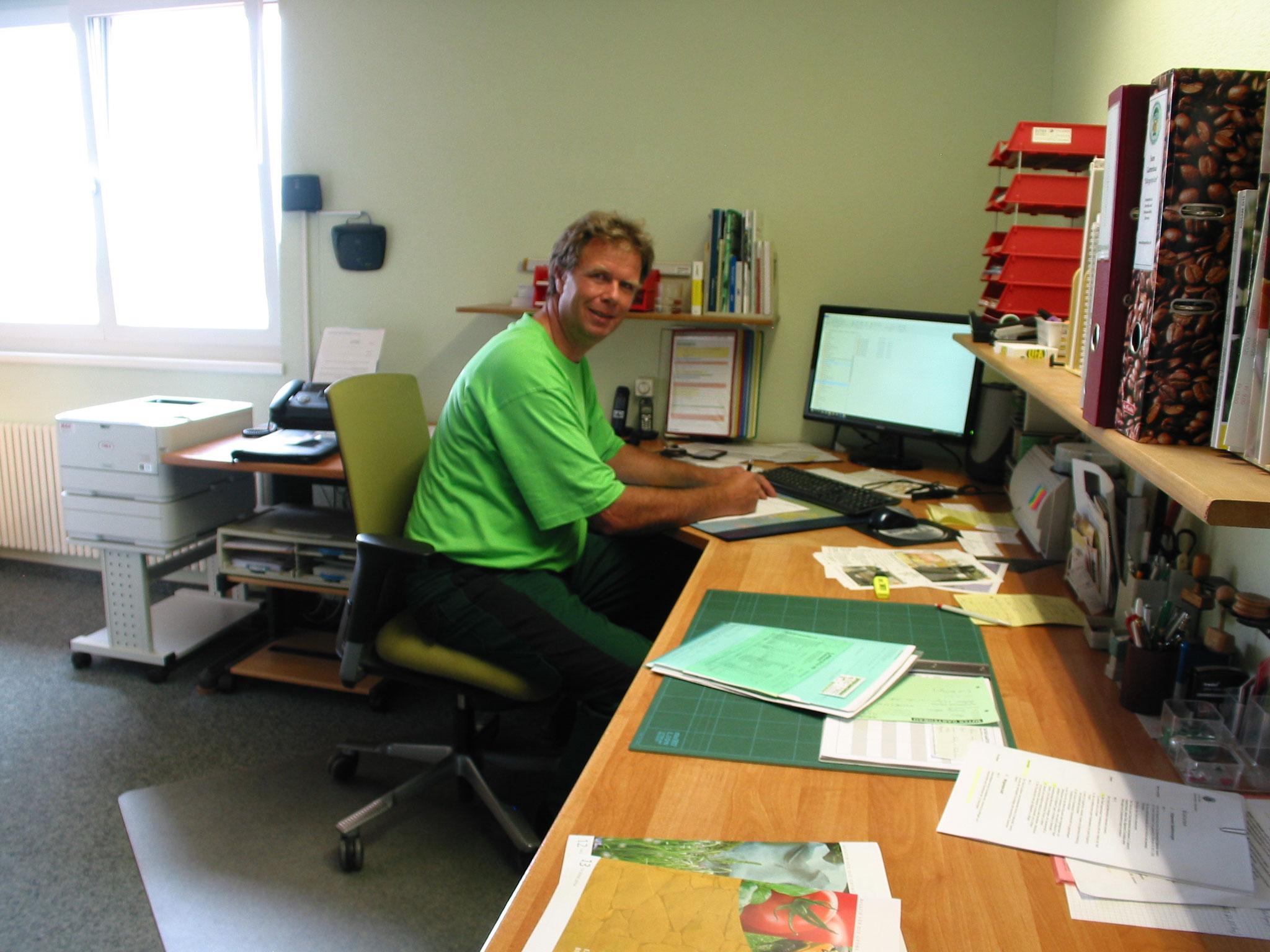 Eine koordinierte und gut organisierte Arbeitsvorbereitung ist eine Grundvoraussetzung bei unseren Gartenprojekten.