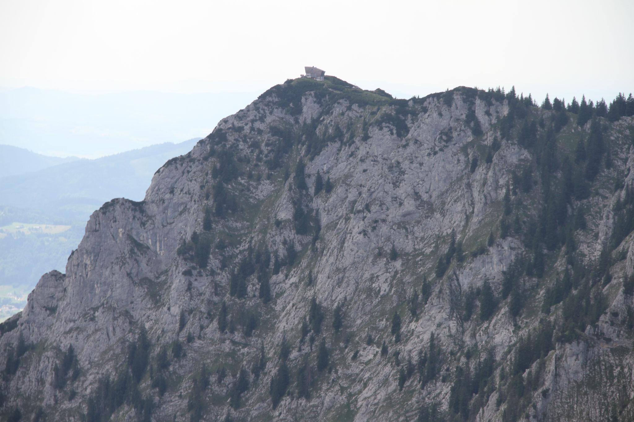 Traunstein Gipfelkreuz