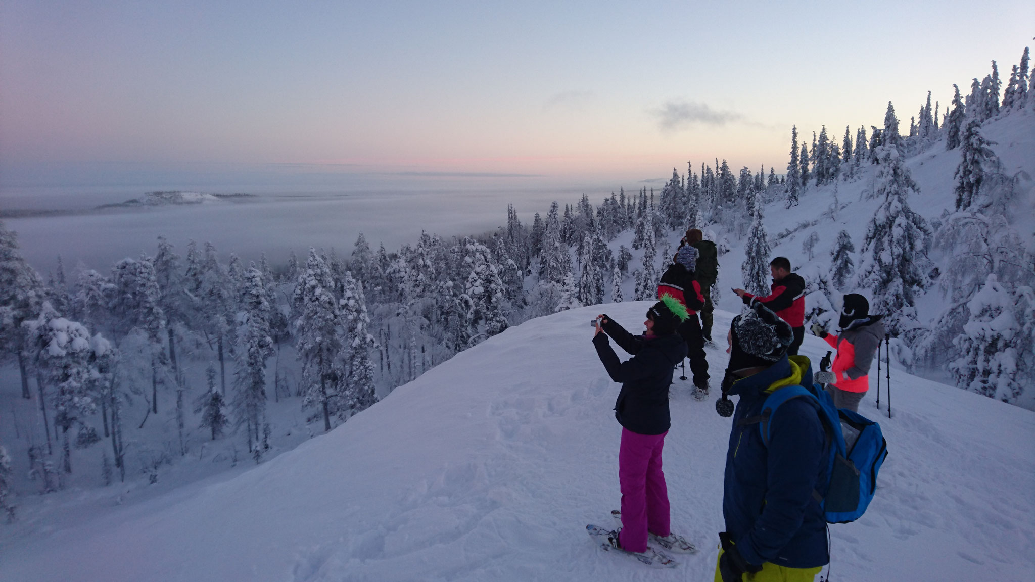 Another beautiful day in the lappish backcountry...