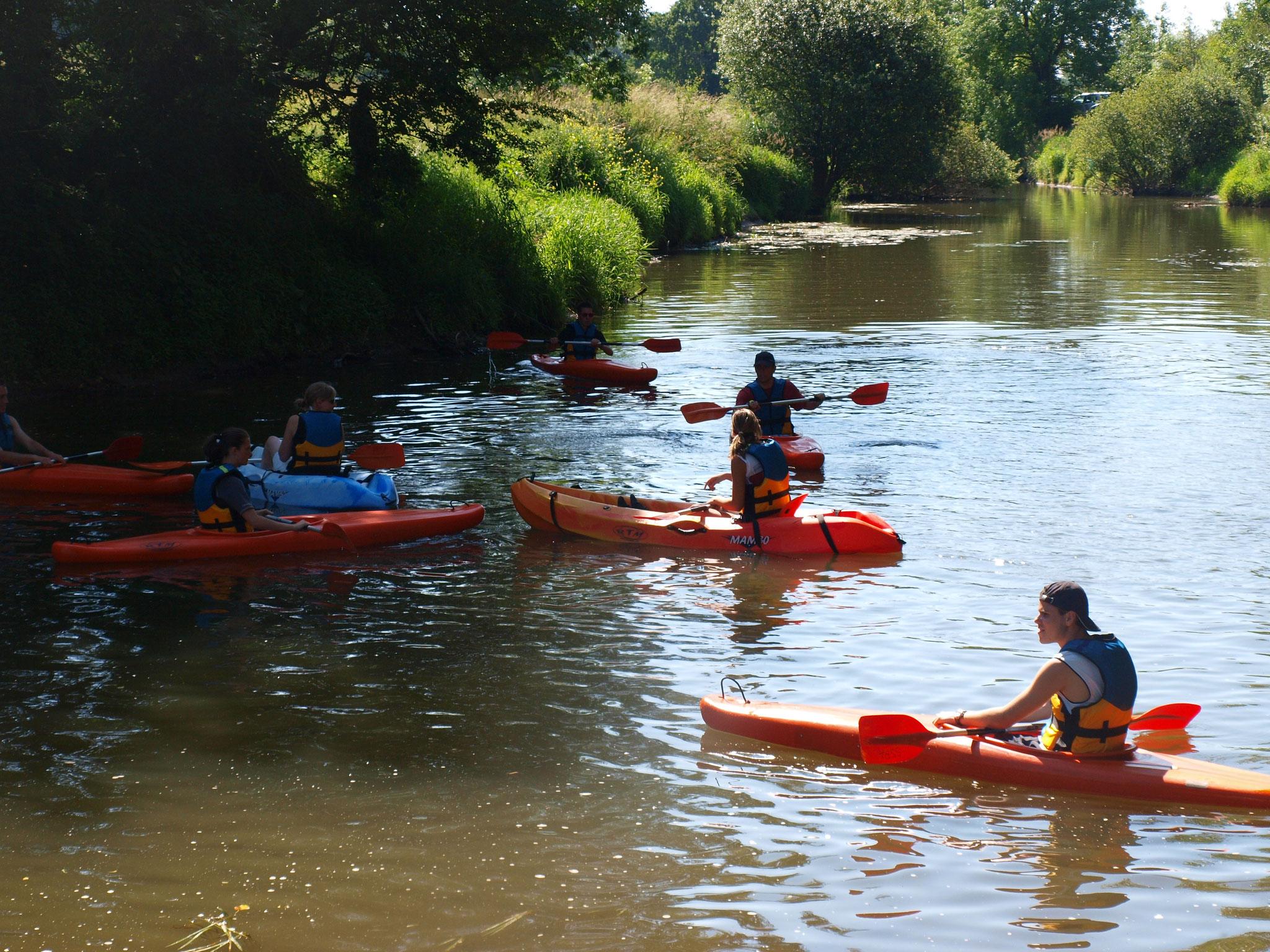 Petite balade en kayak sous le soleil!!!