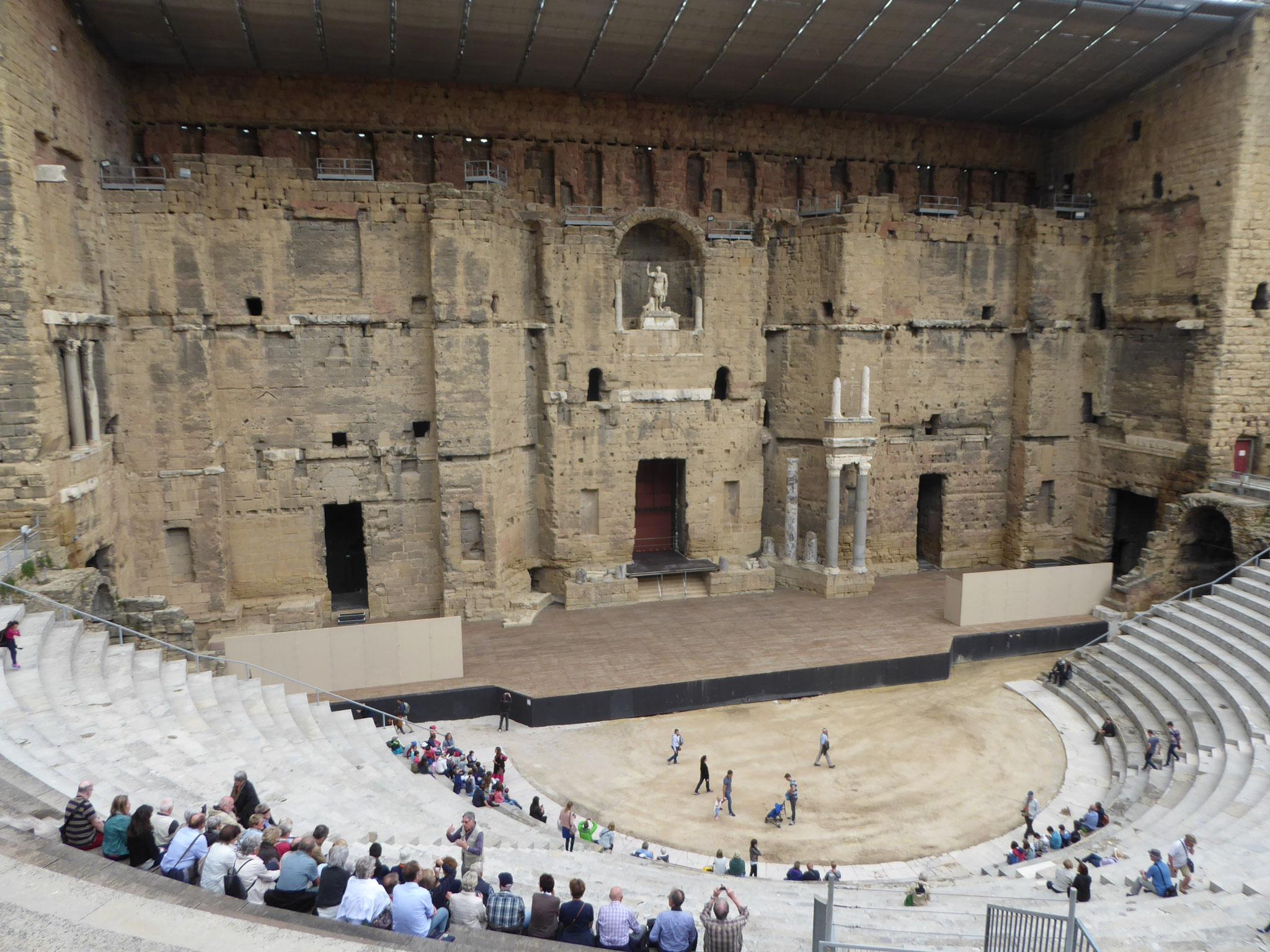 Das antike Theater von Orange