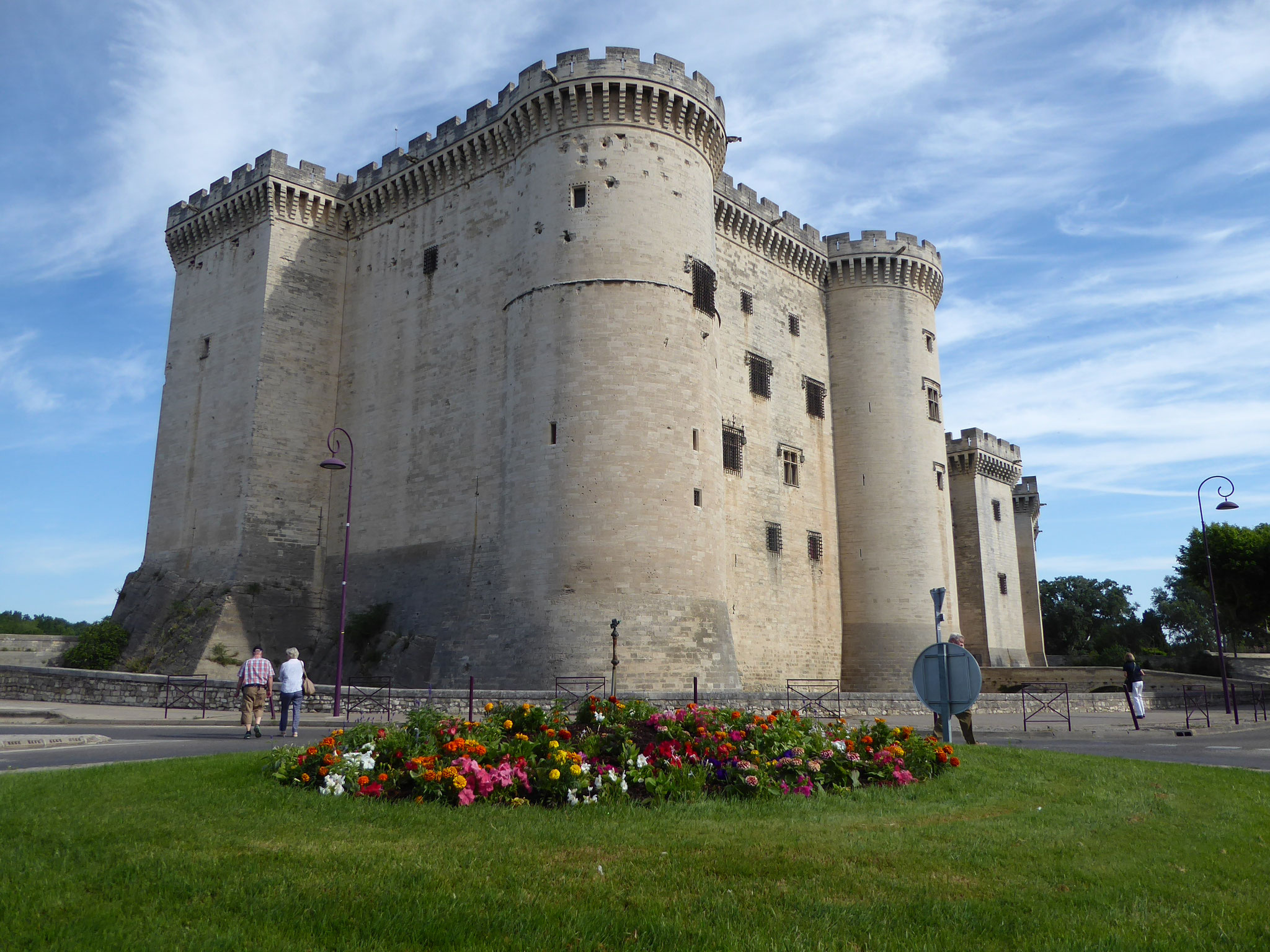 Das Chateau Tarascon aus dem 15. Jh.