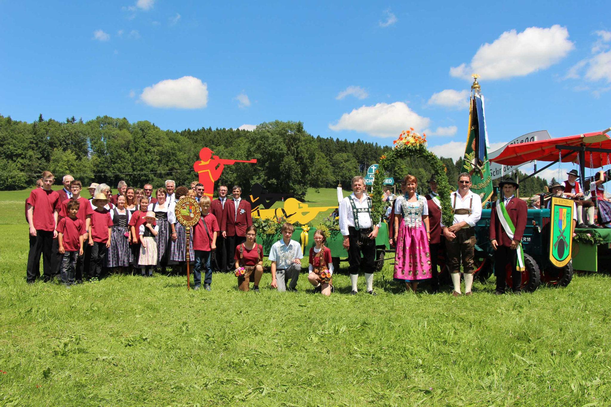 Bezirksmusikfest Probstried 2017