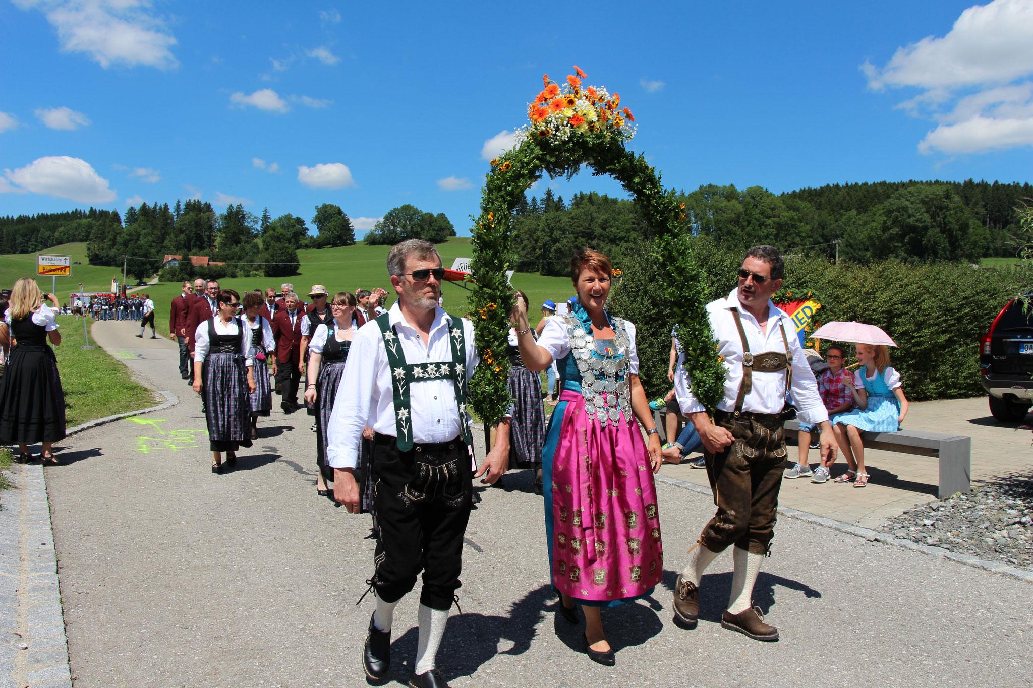 45. Bezirksmusikfest Probstried
