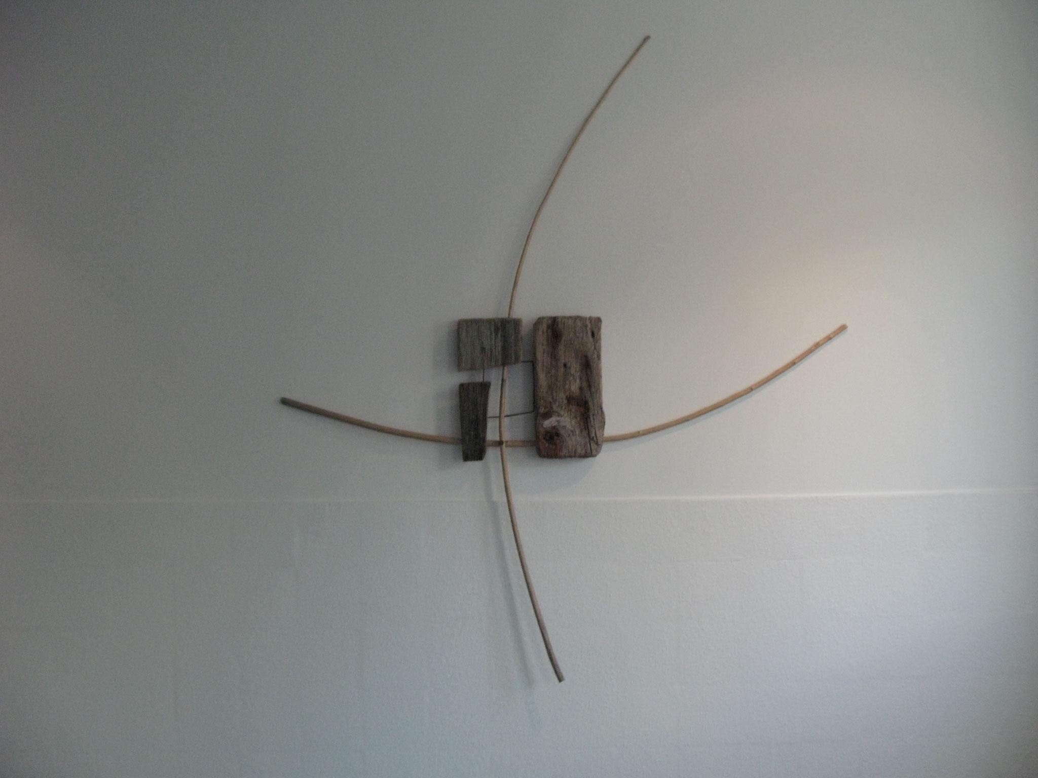 Fragmentarisches Kreuz, Kraftobjekte Wolfgang Wallner Hall in Tirol